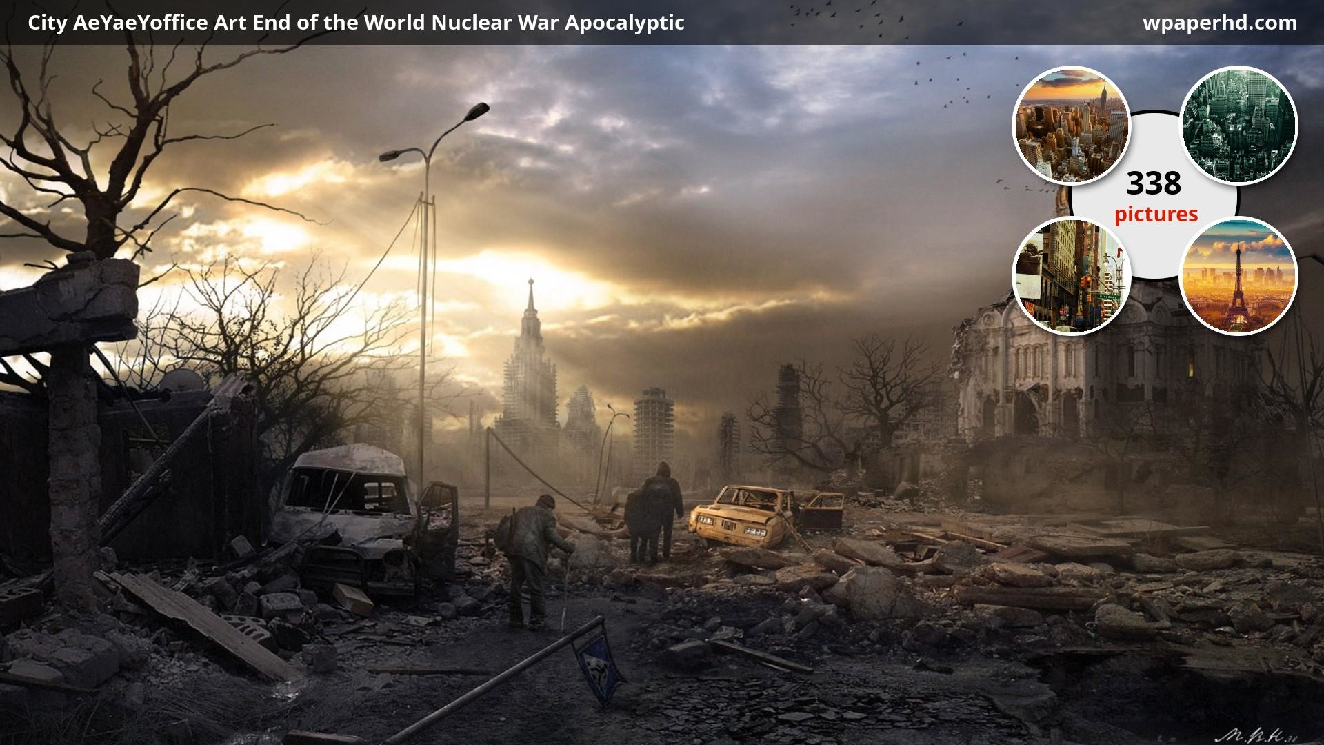 1920x1080 ... Nuclear War Apocalyptic wallpaper, where you can download this picture  in Original size and ...