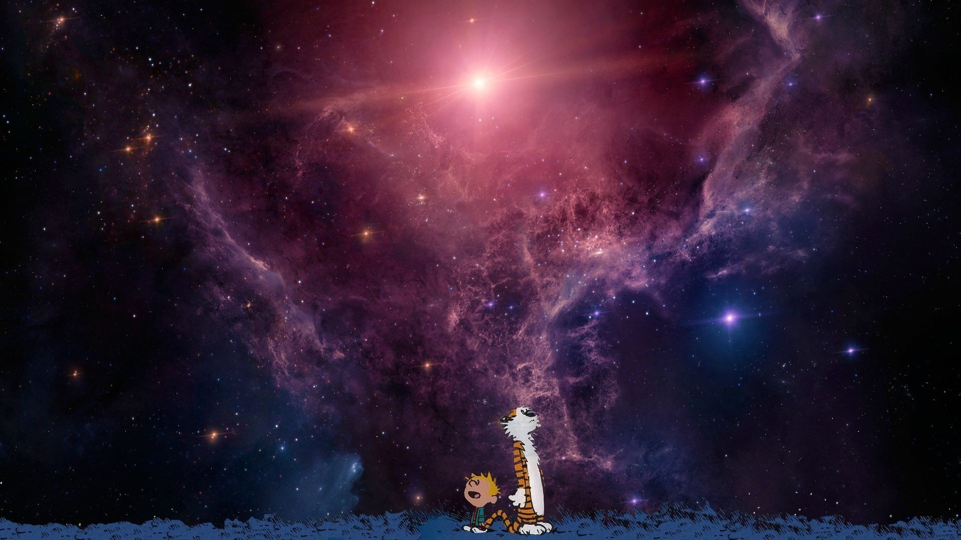 Calvin And Hobbes Space Wallpaper 76 Images