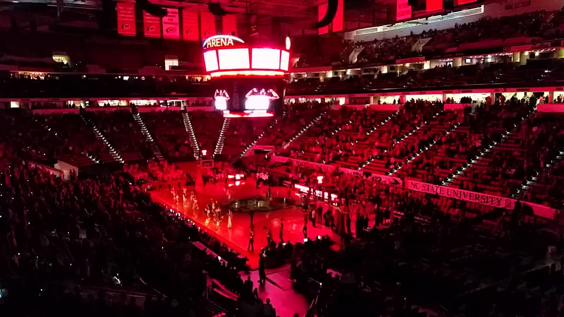 1920x1080 NC State men's basketball intro vs Boise State - YouTube