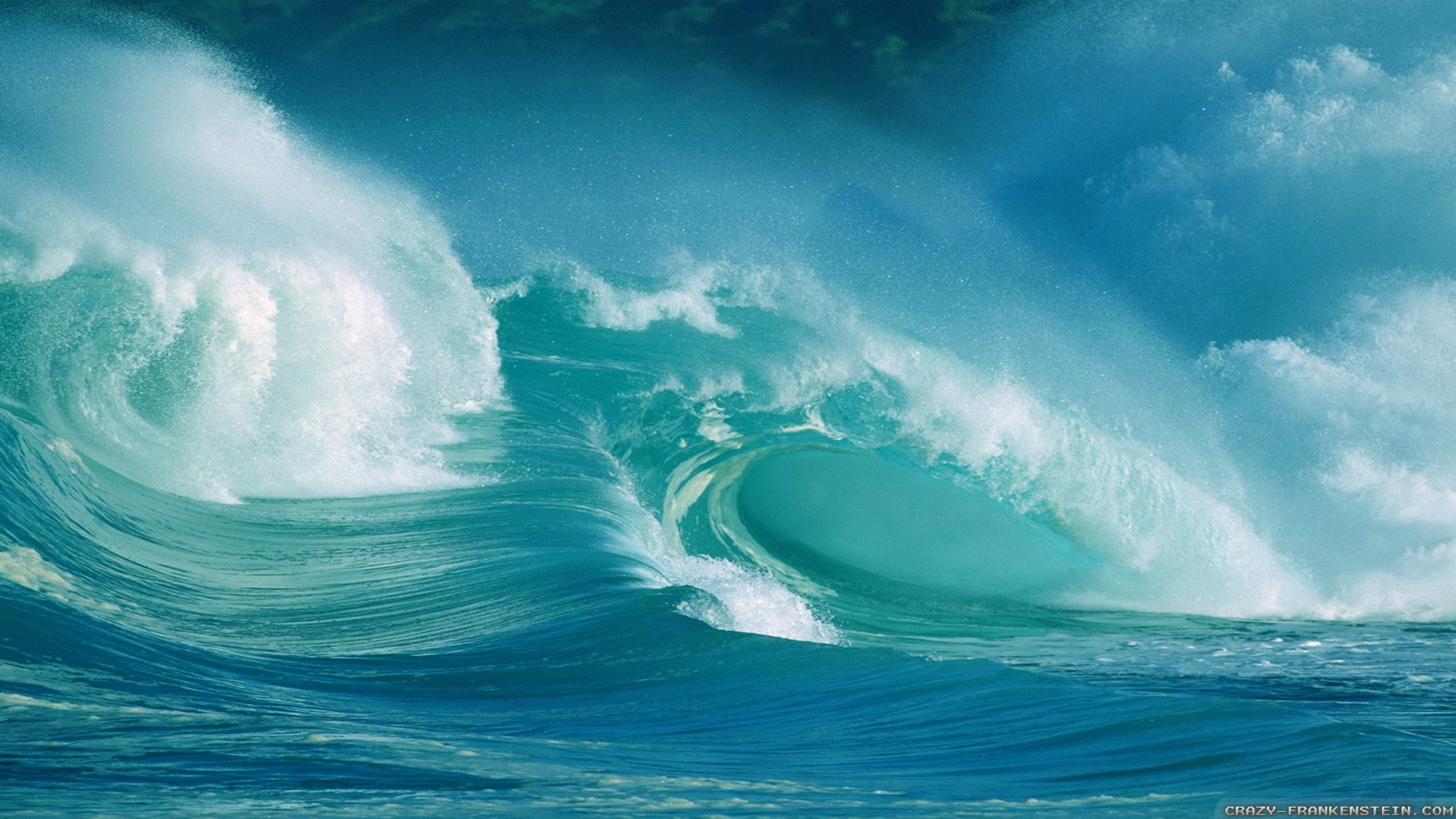 2560x1440 tsunami picture - Full HD Wallpapers, Photos by Nixon Young. Ocean  WavesOceansMother ...