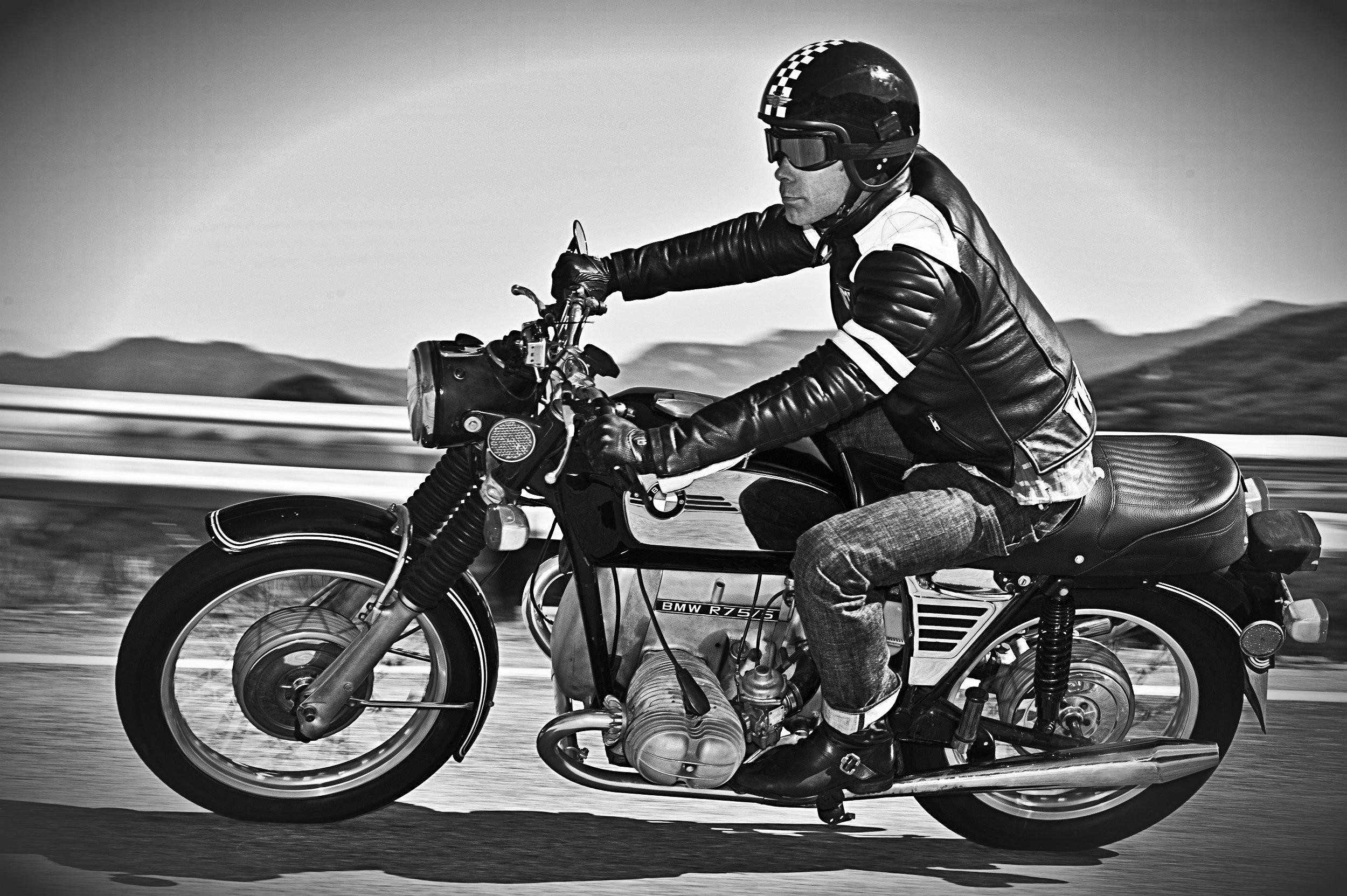 motorcycle classic racer cafe motorcycles bmw bike retro motorbike honda leather biker wallpapers motor jacket club quality desktop indian racers