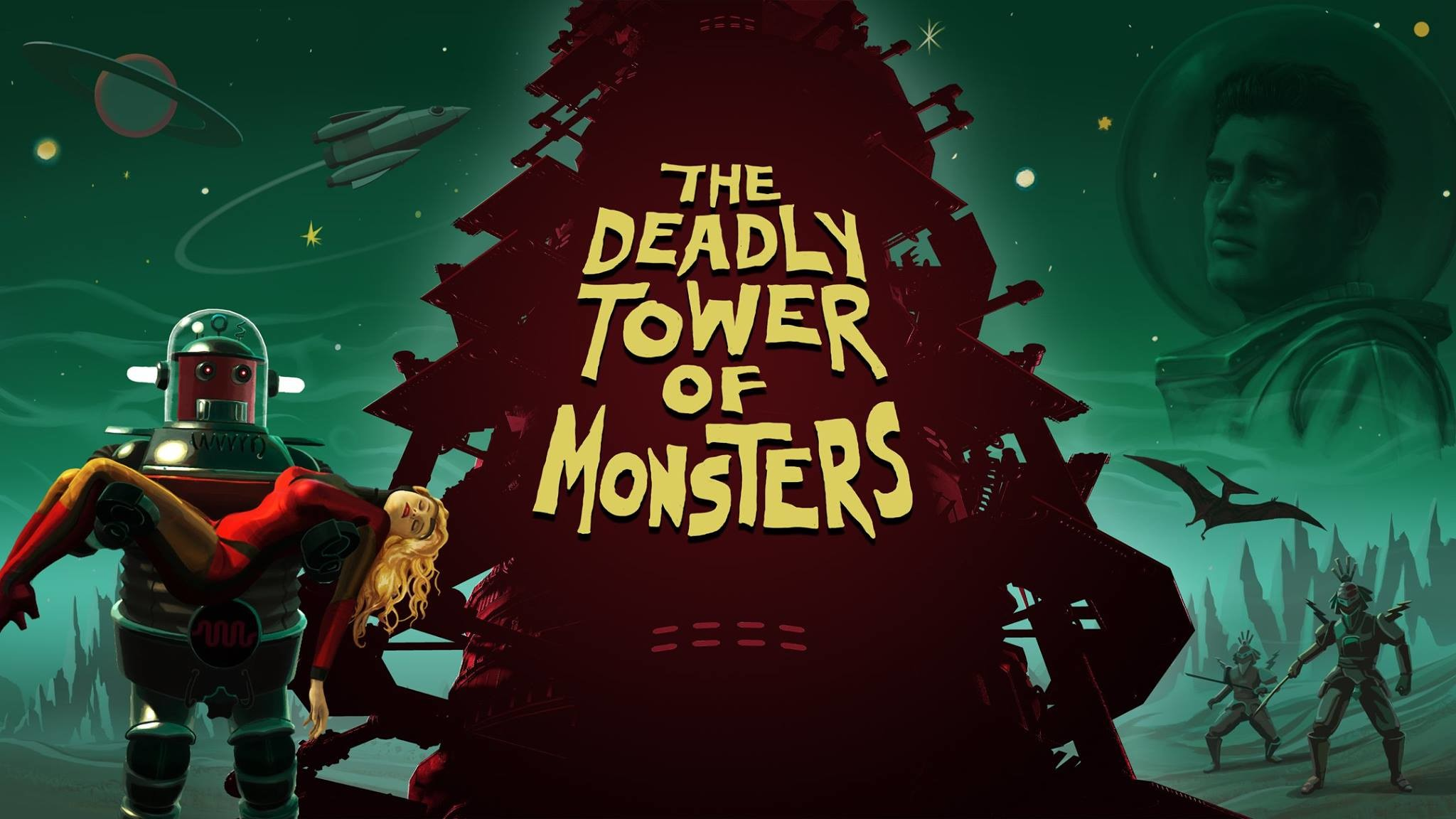 2048x1152 The Deadly Tower of Monsters review on PC