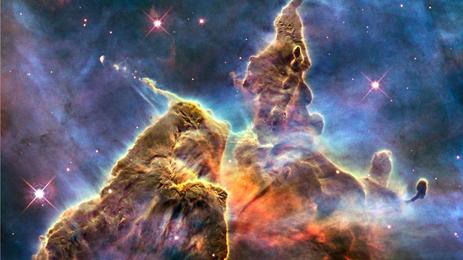 1920x1200 Nebula Wallpaper HD