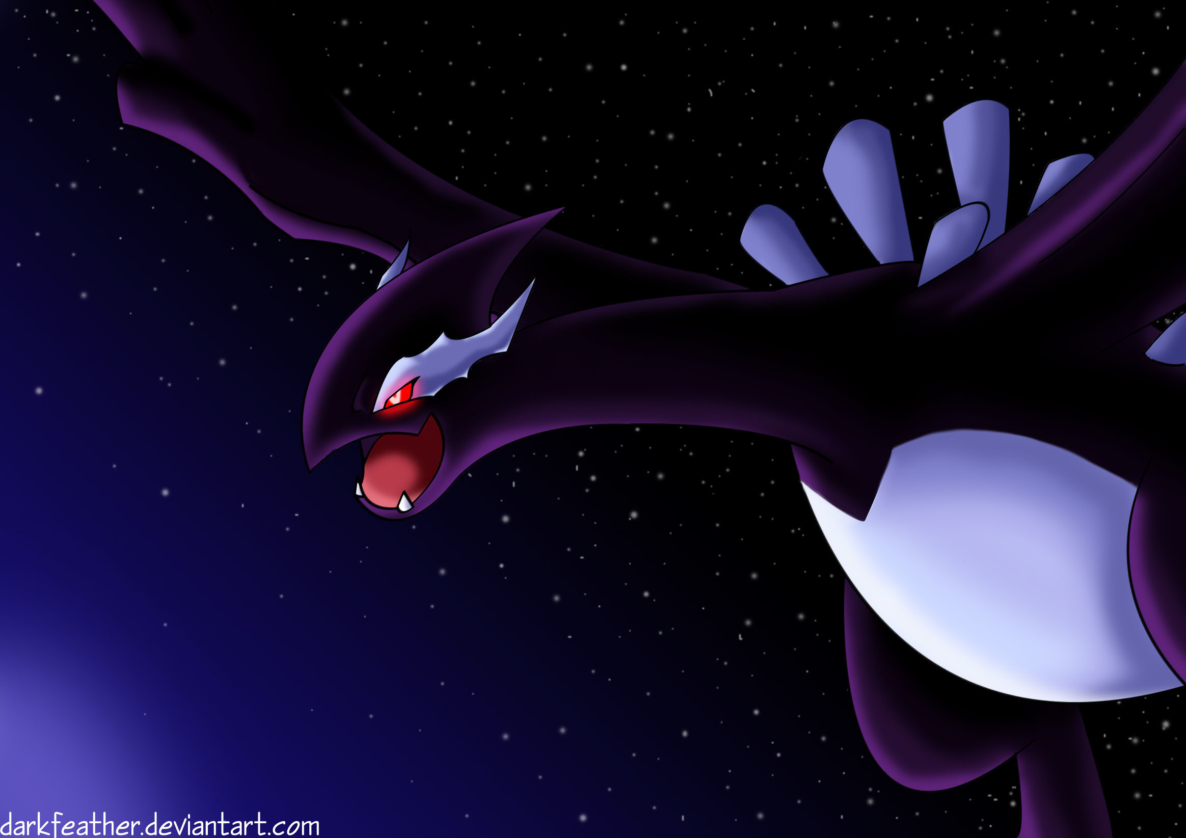 2328x1645 Shadow Lugia