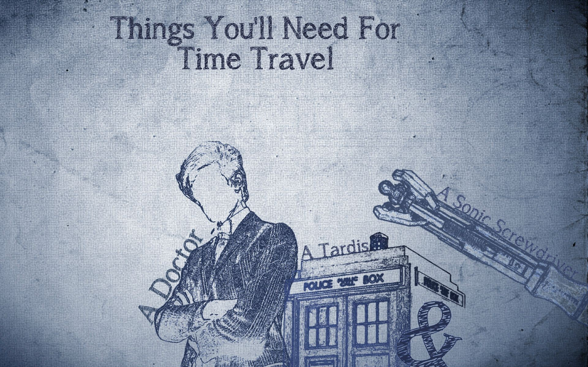 1920x1200 Doctor Who, The Doctor, TARDIS, Time Travel, Eleventh Doctor