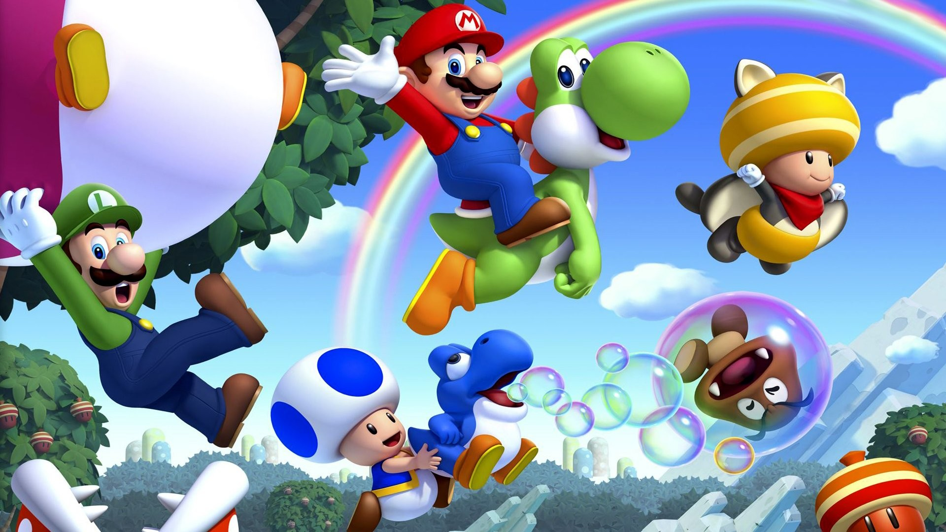 1920x1080 Explore More Wallpapers in the Super Mario Bros. Subcategory!