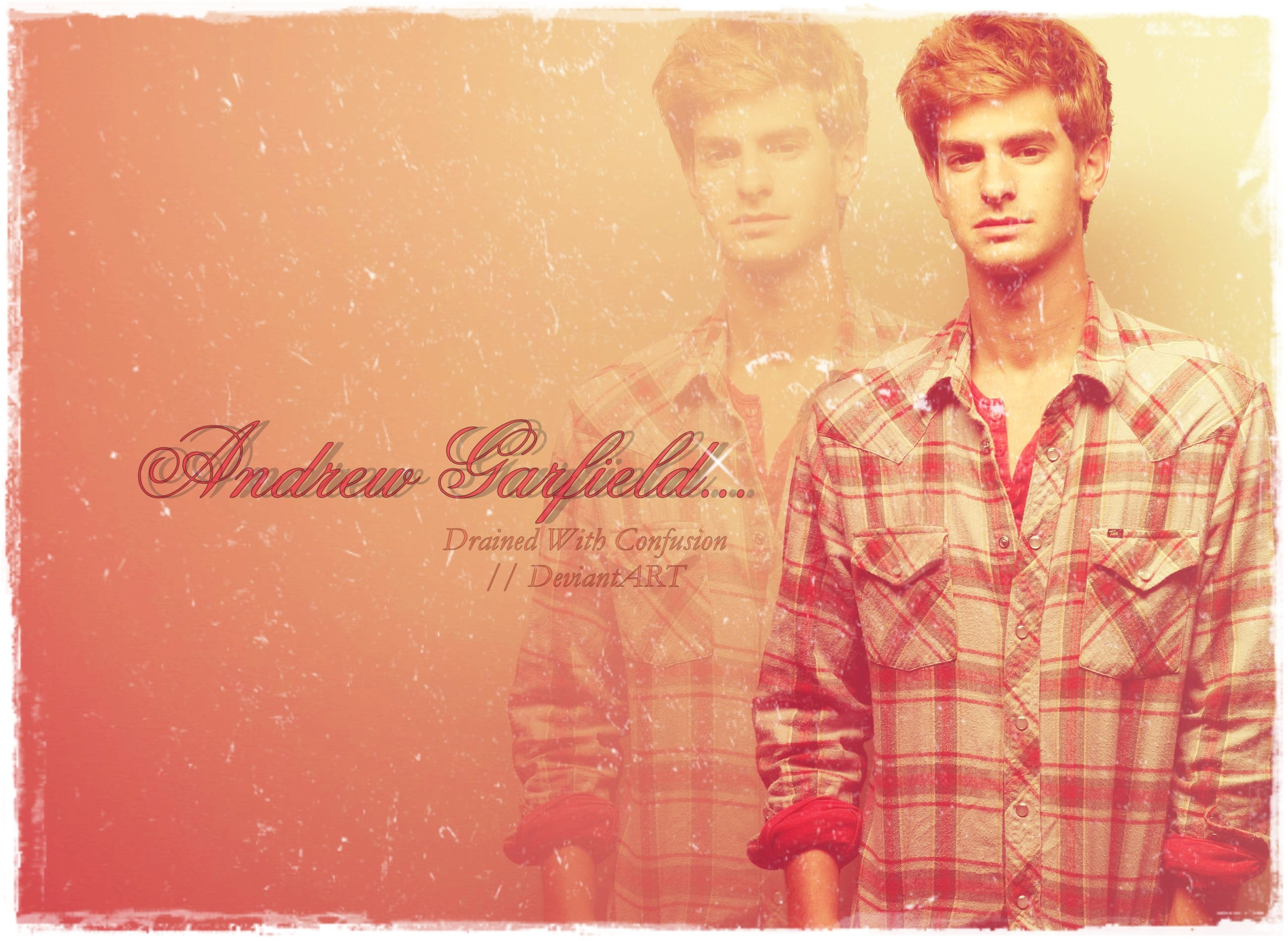 2600x1900 Andrew Garfield Wallpaper 1 by DrainedWithConfusion Andrew Garfield  Wallpaper 1 by DrainedWithConfusion