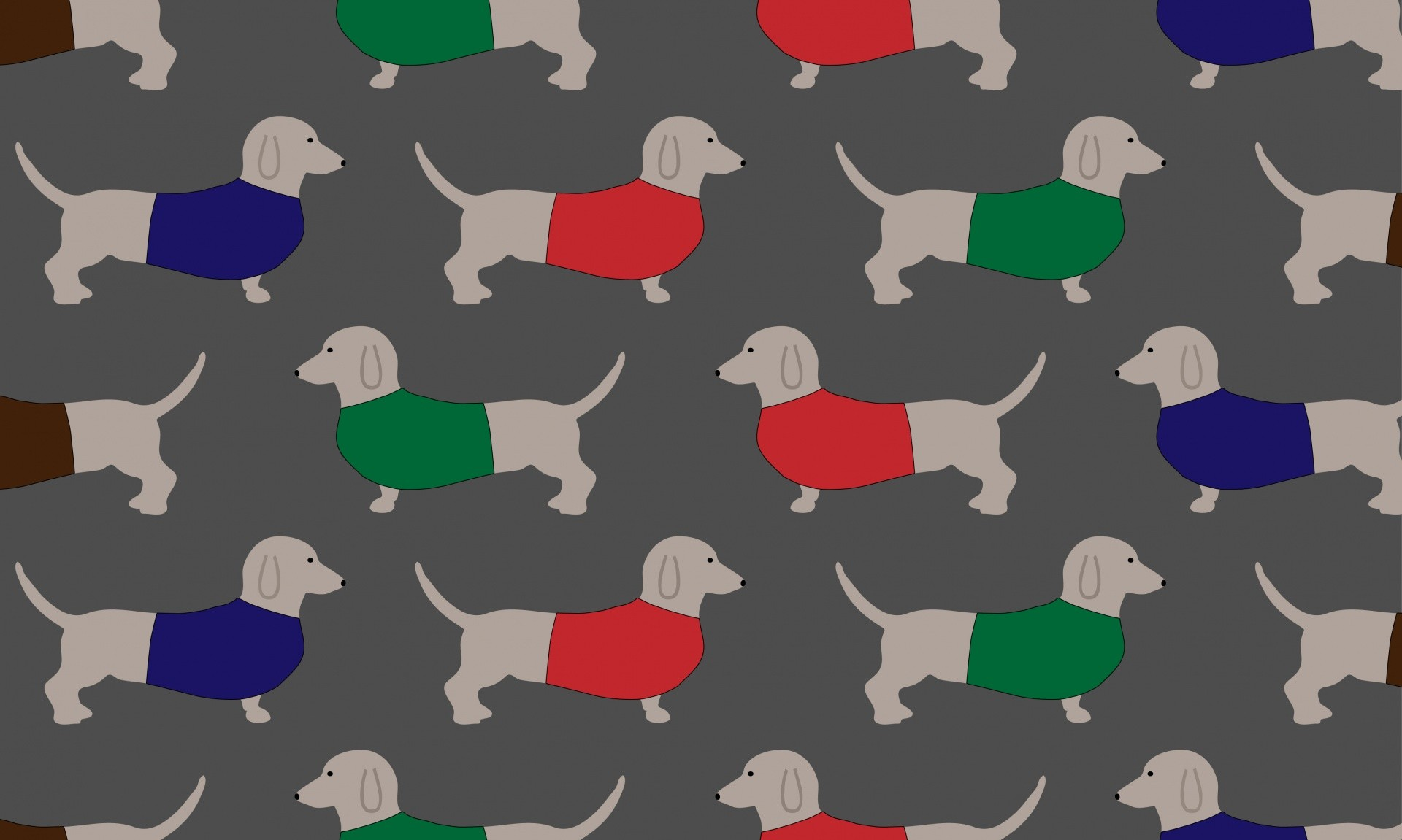 1920x1151 Dachshund Dog Wallpaper Pattern