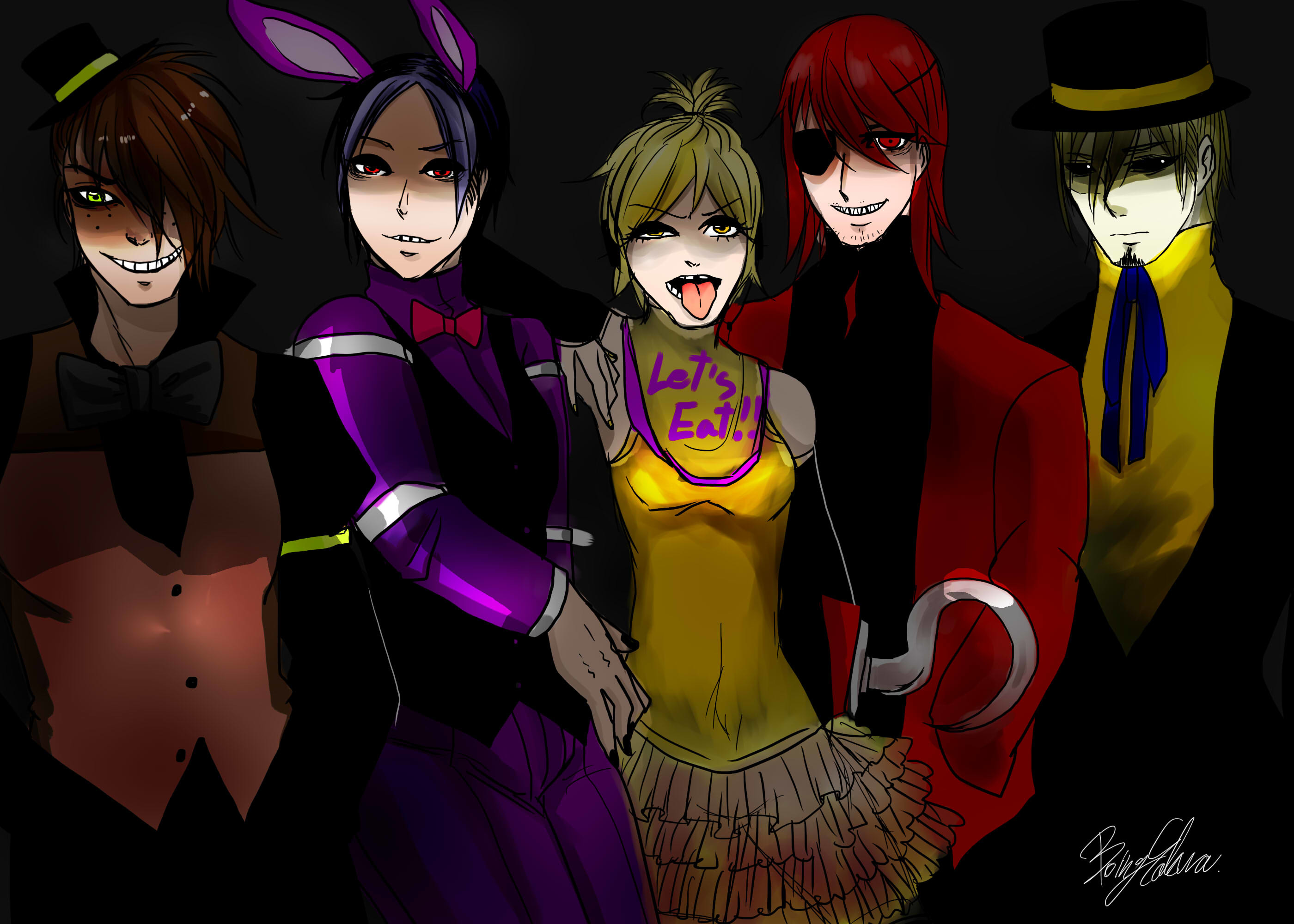 2800x2000 Five Nights at Freddy's by BoingSakura Five Nights at Freddy's by  BoingSakura