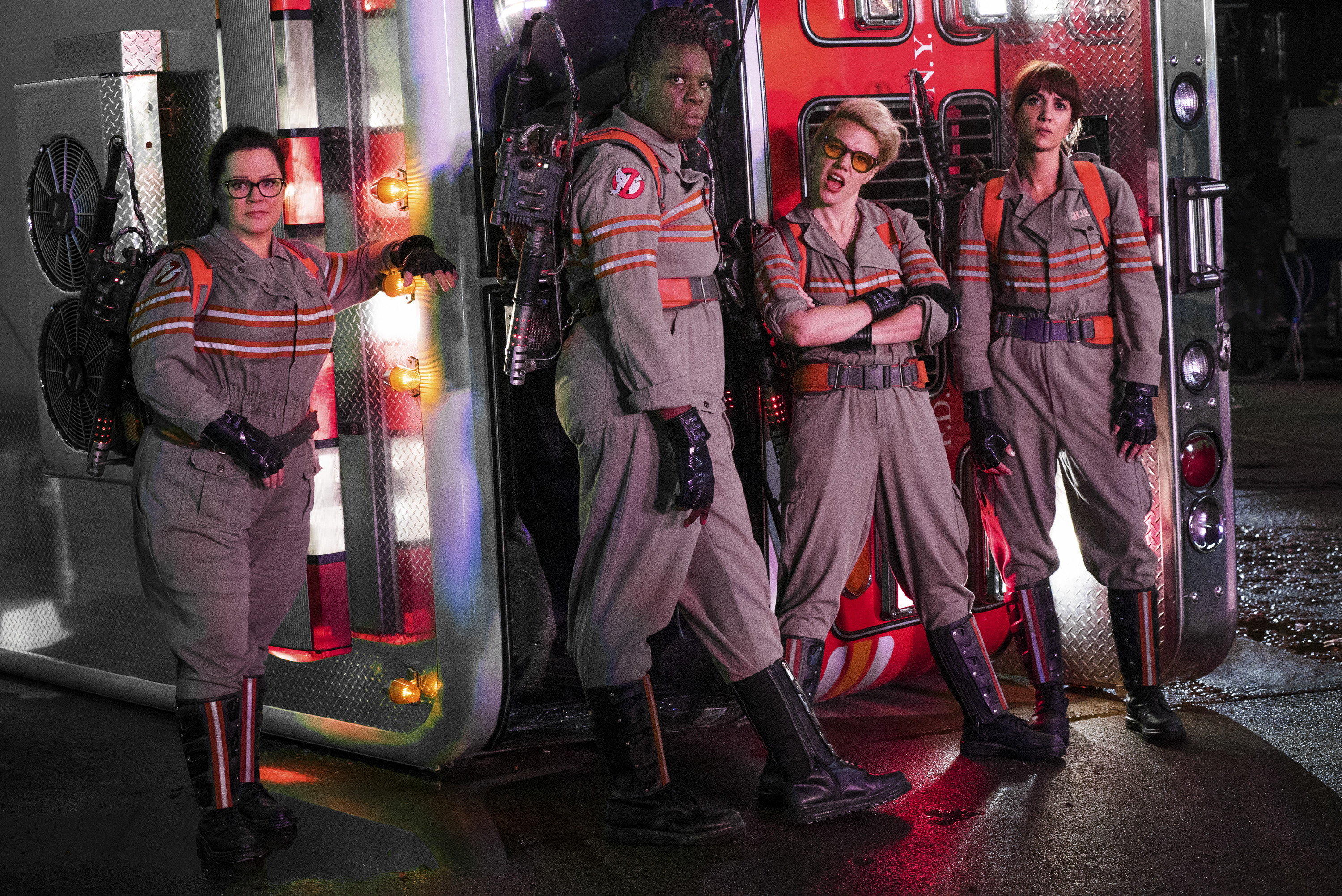 3000x2004 Sony Pictures has released three more clips from Paul Feig's eagerly  awaited Ghostbusters reboot featuring our four leads getting acquainted  with one ...