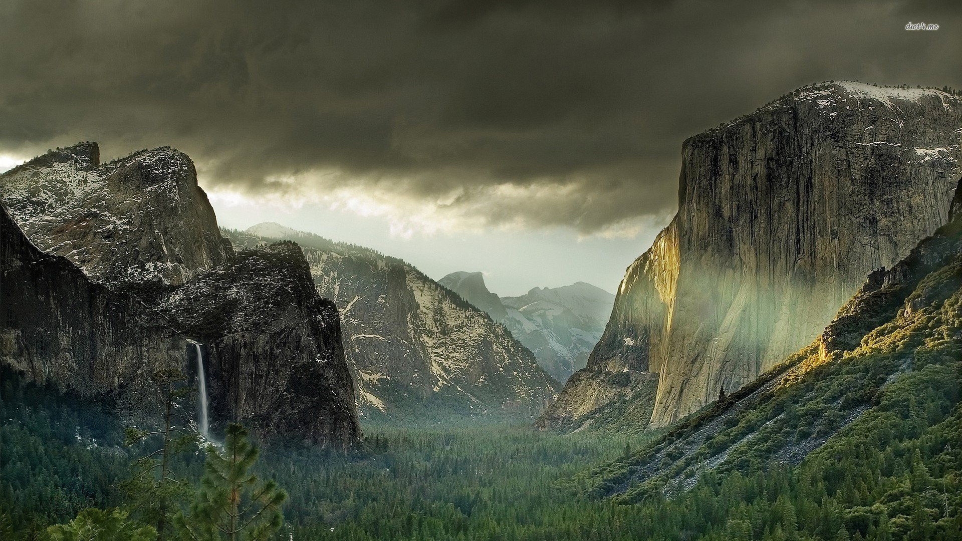 1920x1080 Yosemite National Park Wallpapers 1920×1080