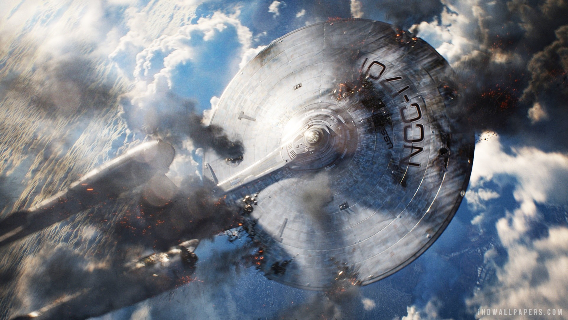 1920x1080 USS Enterprise In Star Trek Into Darkness HD Wallpaper IHD
