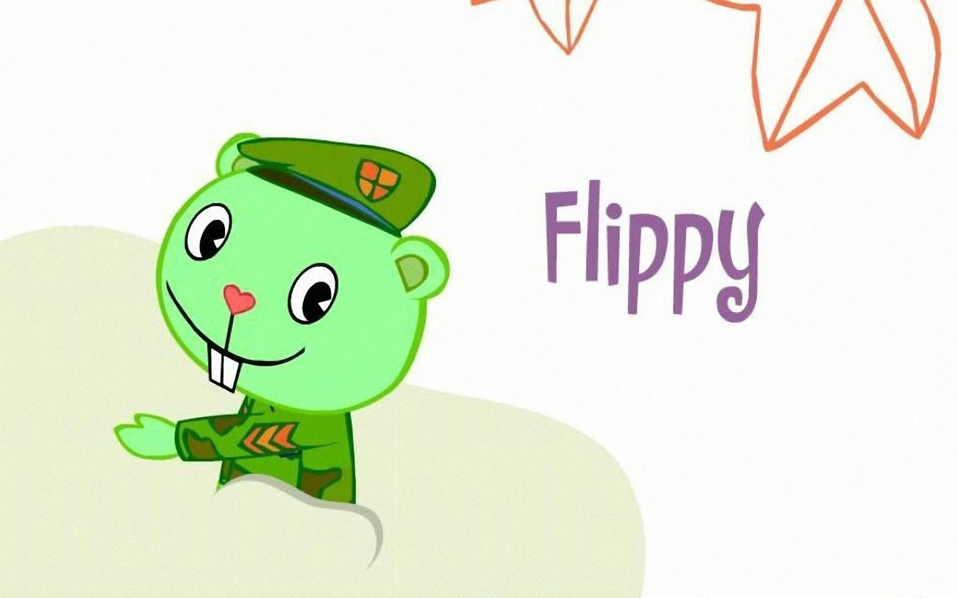 1920x1200  HD Wallpapers Flippy - Happy Tree Friends 2011