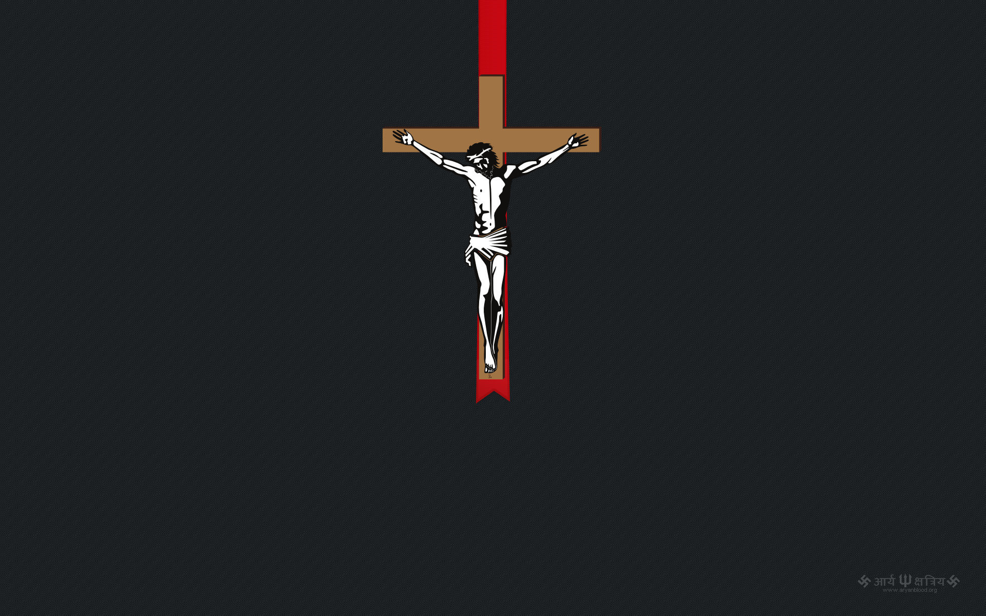 1920x1200 Jesus On The Cross wallpaper