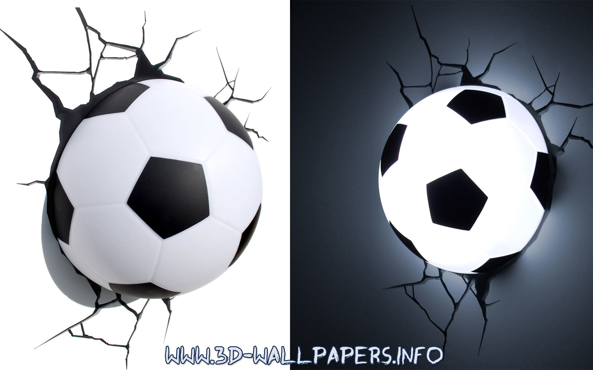 1920x1200 Soccer Ball 3D Deco Light