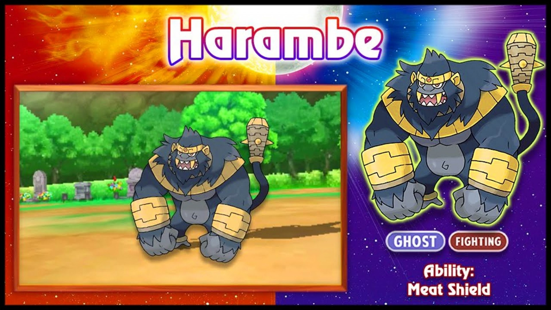 1920x1080 Pokemon Sun And Moon Harambe iPhone Wallpapers HD