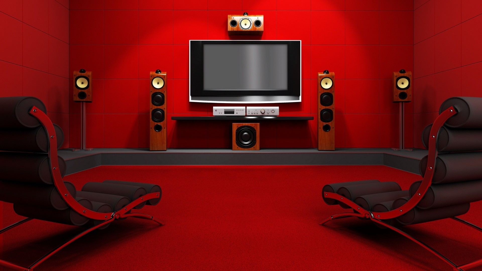 Home cinema wallpaper
