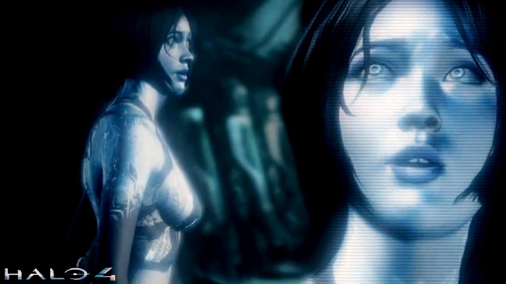 1920x1080 Download Halo 4 Cortana Wallpaper HD By Crowlad (2993) Full Size .