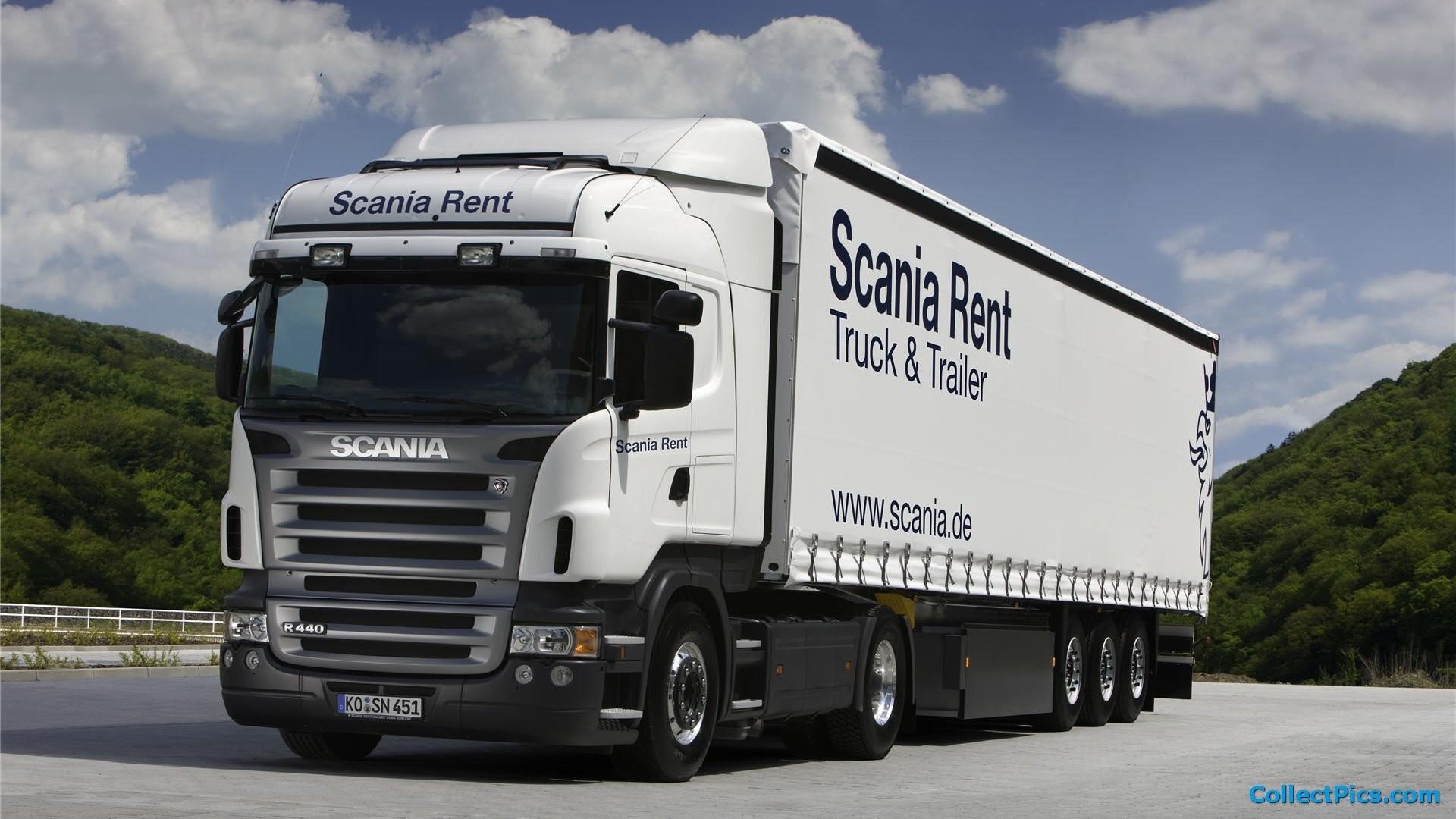 1920x1080 Scania Truck 527422