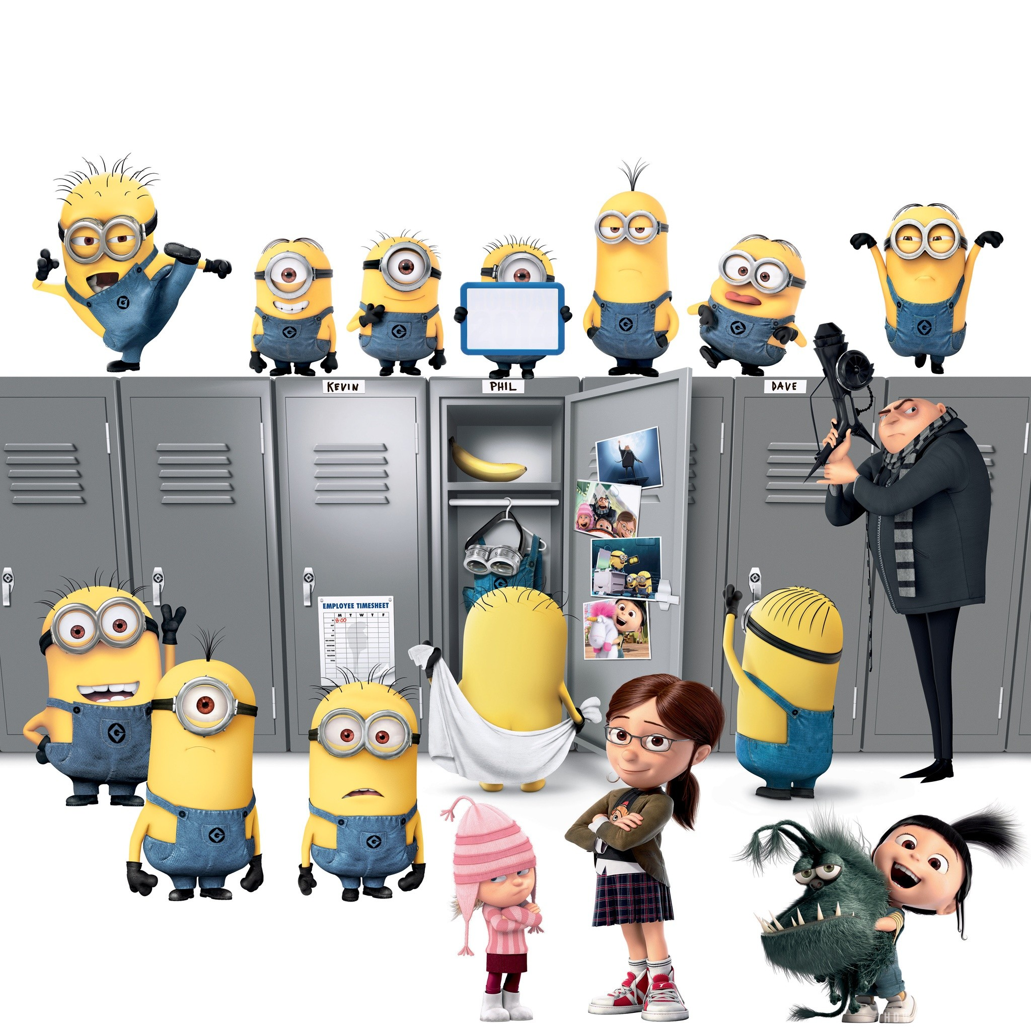 2048x2048 minions - Despicable Me Minions Wallpaper - Fanpop