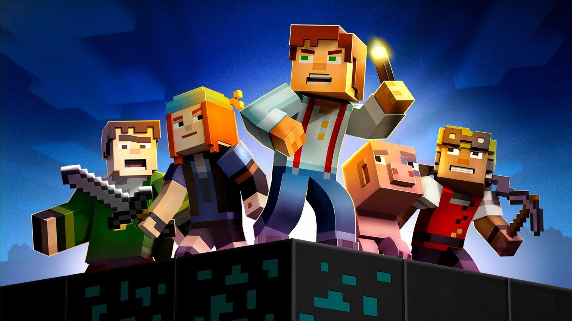 Minecraft story mode wallpapers 96 images - Minecraft story mode wallpaper ...