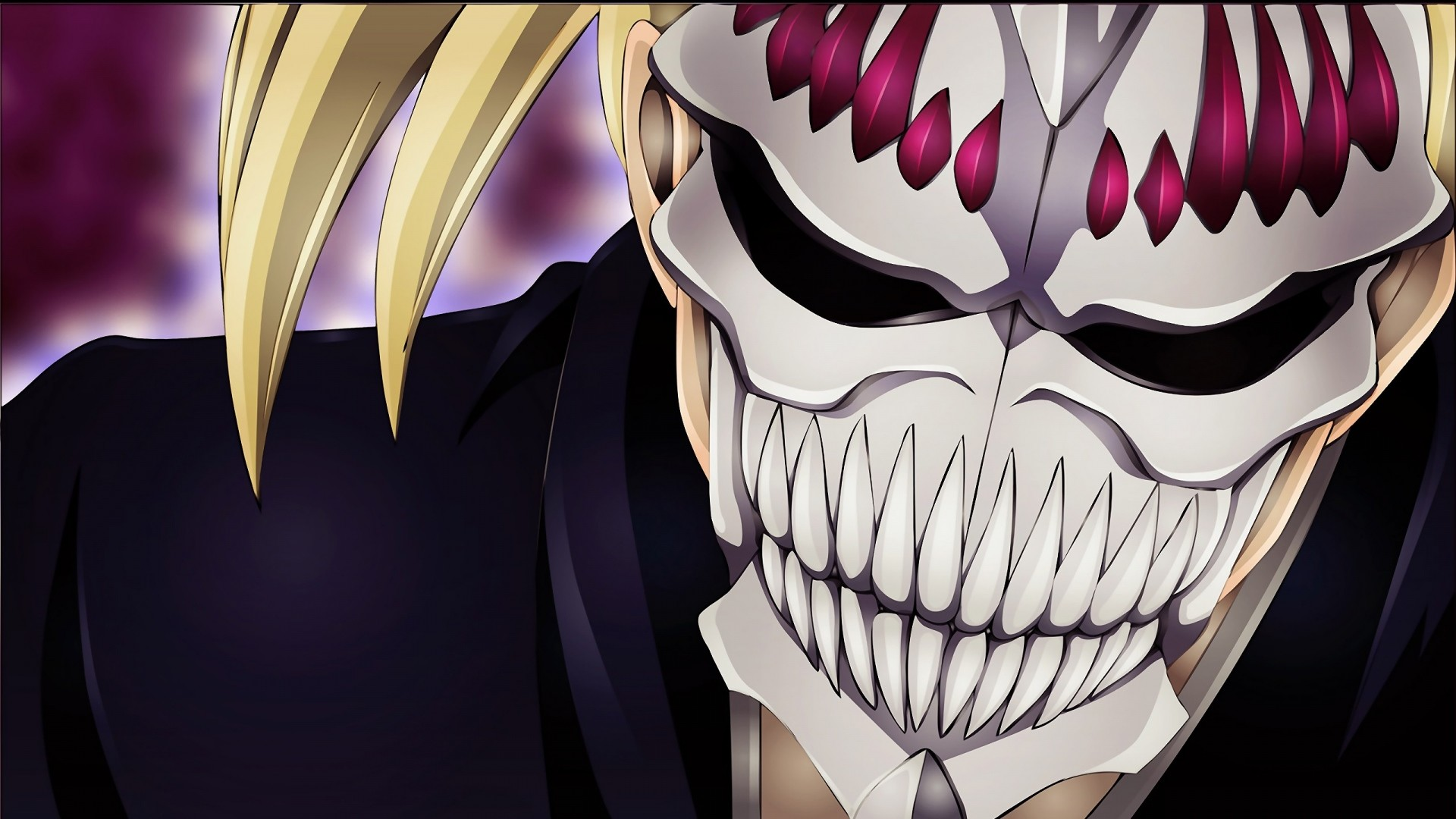 1920x1080 Preview wallpaper bleach, sarugaki hiyori, mask, man