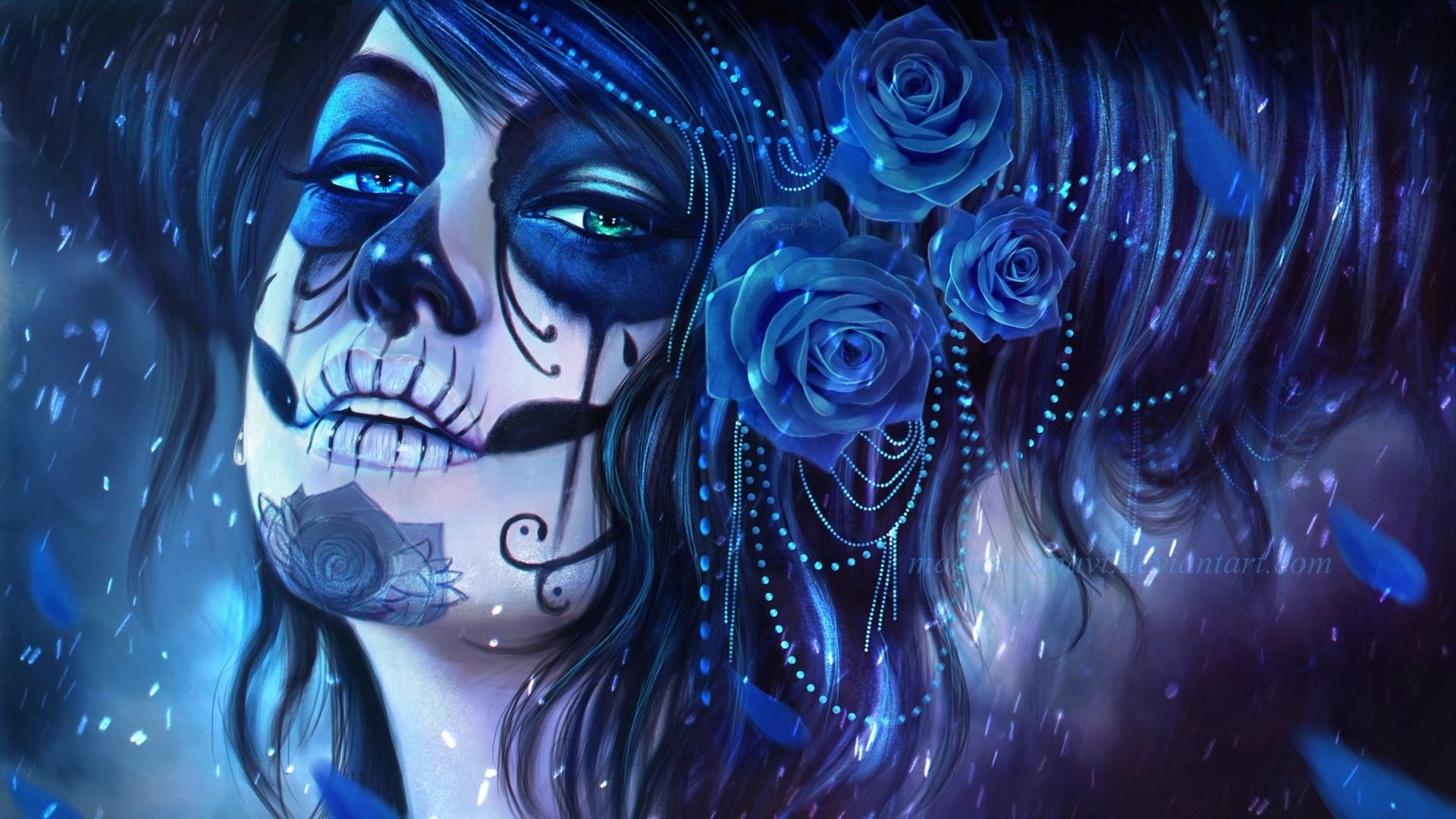 Sugar Skull Desktop Wallpaper (60+ images)