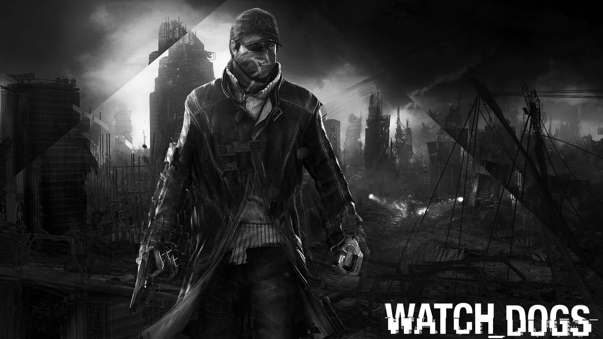 1920x1080 Black Watch Dogs Watch Dogs: the black city wallpapers and images -  wallpapers .