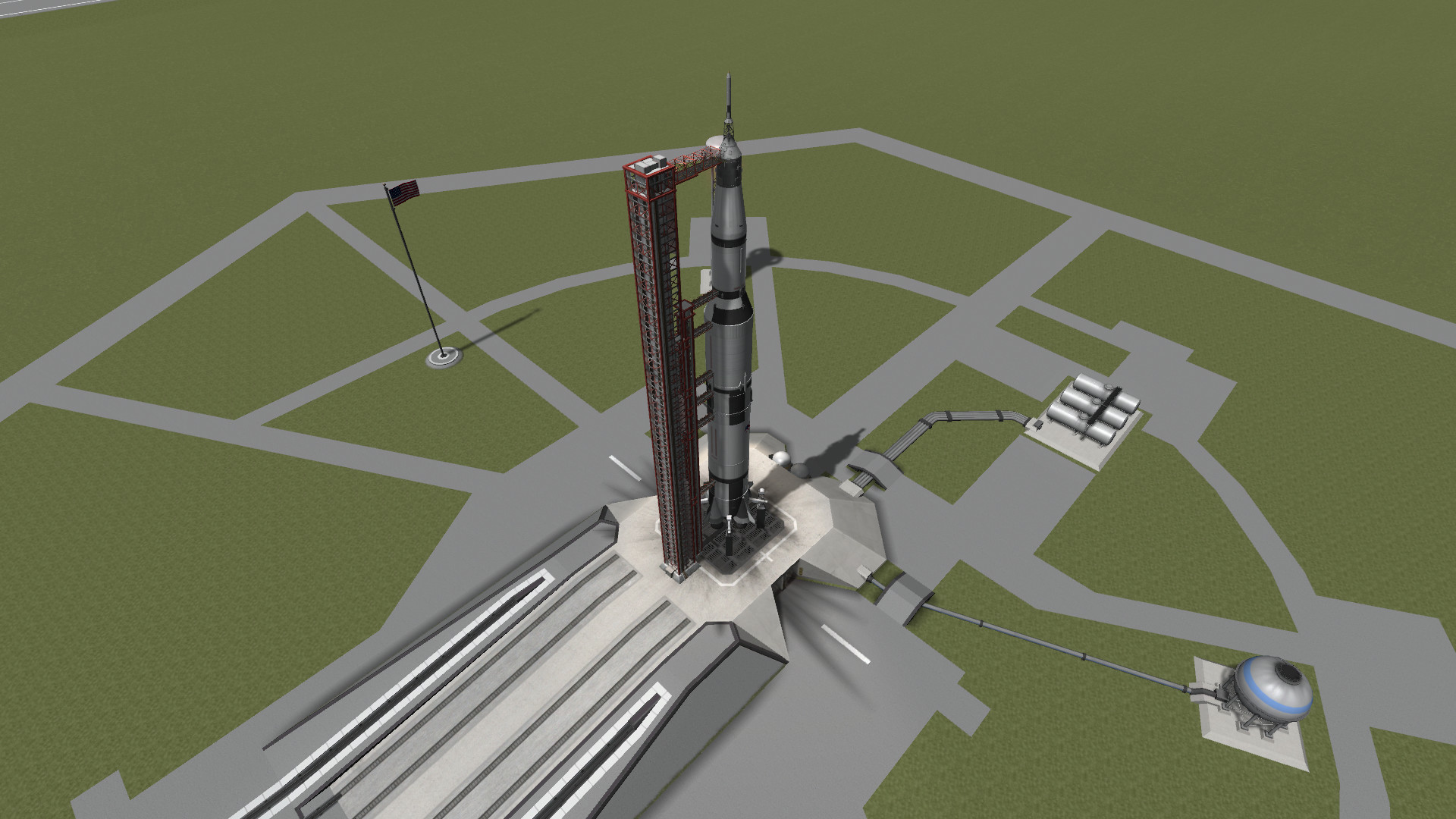 1920x1080 Apollo recreation using the new Bluedog Design Bureau Saturn V, Apollo, and  LM! - Album on Imgur