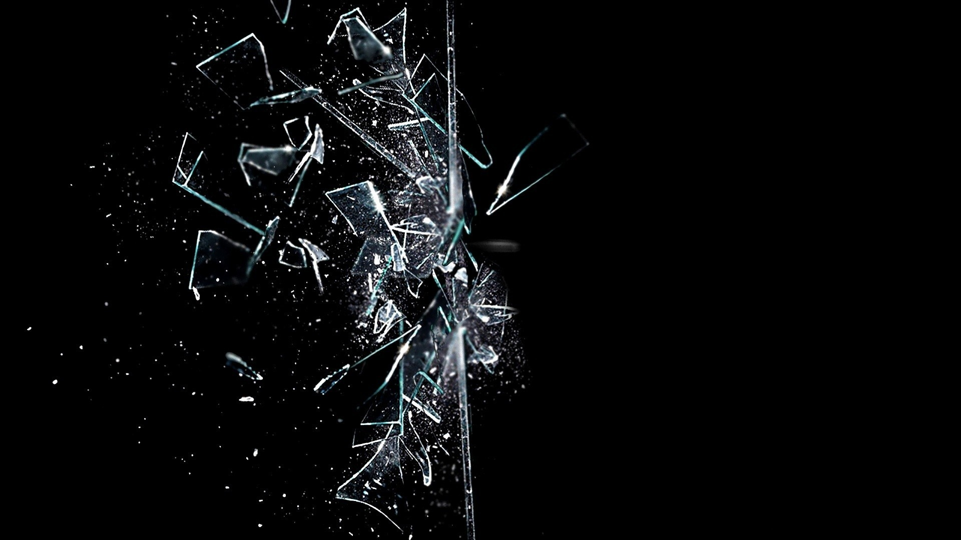 1920x1080 Broken Glass