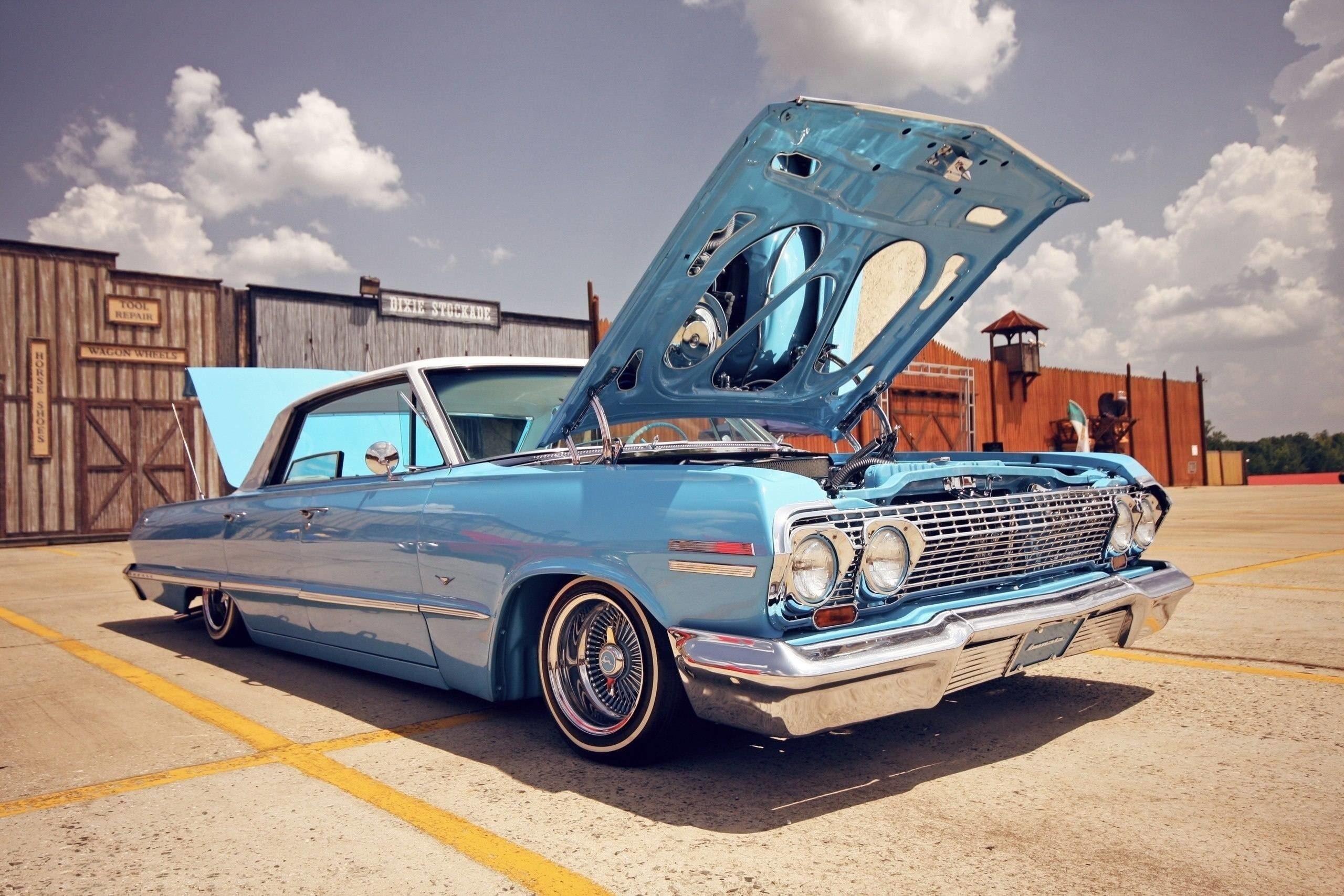 2560x1707 Download wallpaper Chevrolet Impala, lowrider, Car, cars free .