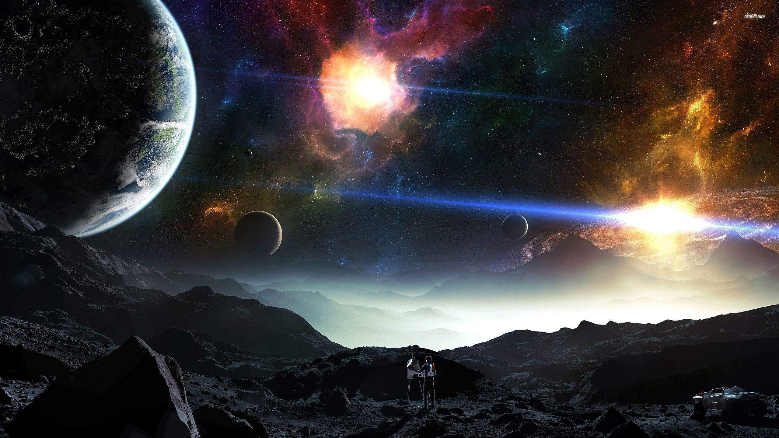 18 Fantasy Astronomy Hd Wallpapers: 2K Space Wallpapers (68+ Images