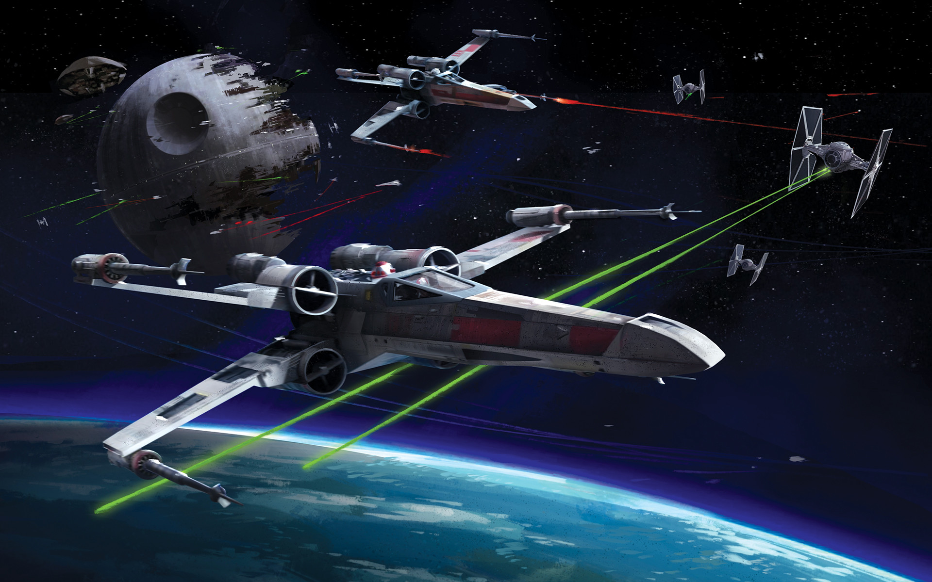 1920x1200 star-wars-x-wing-vs-tie-fighter-hd-wallpaper