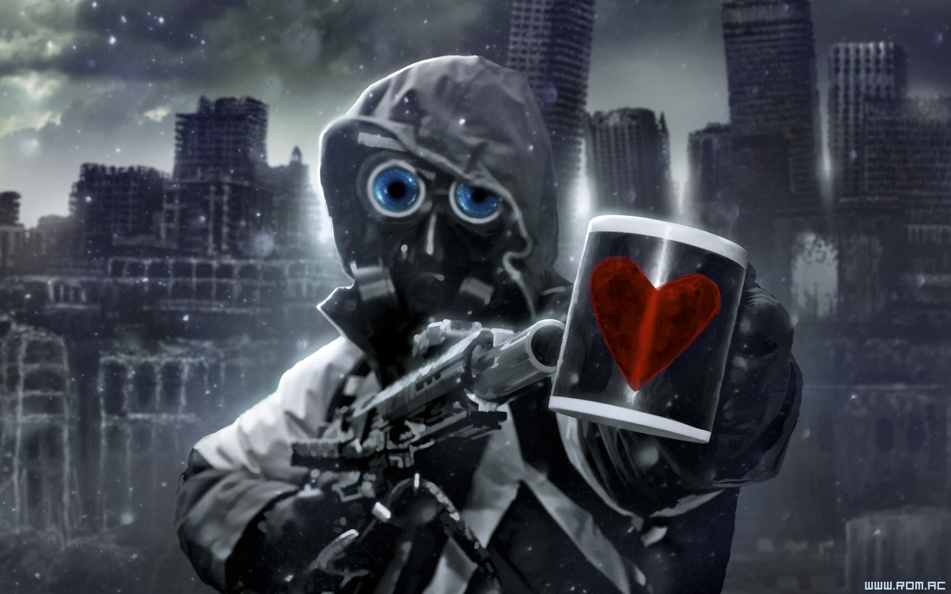 1920x1200 Fiction airbrushed romantically apocalyptic vitaly s alexius wallpaper