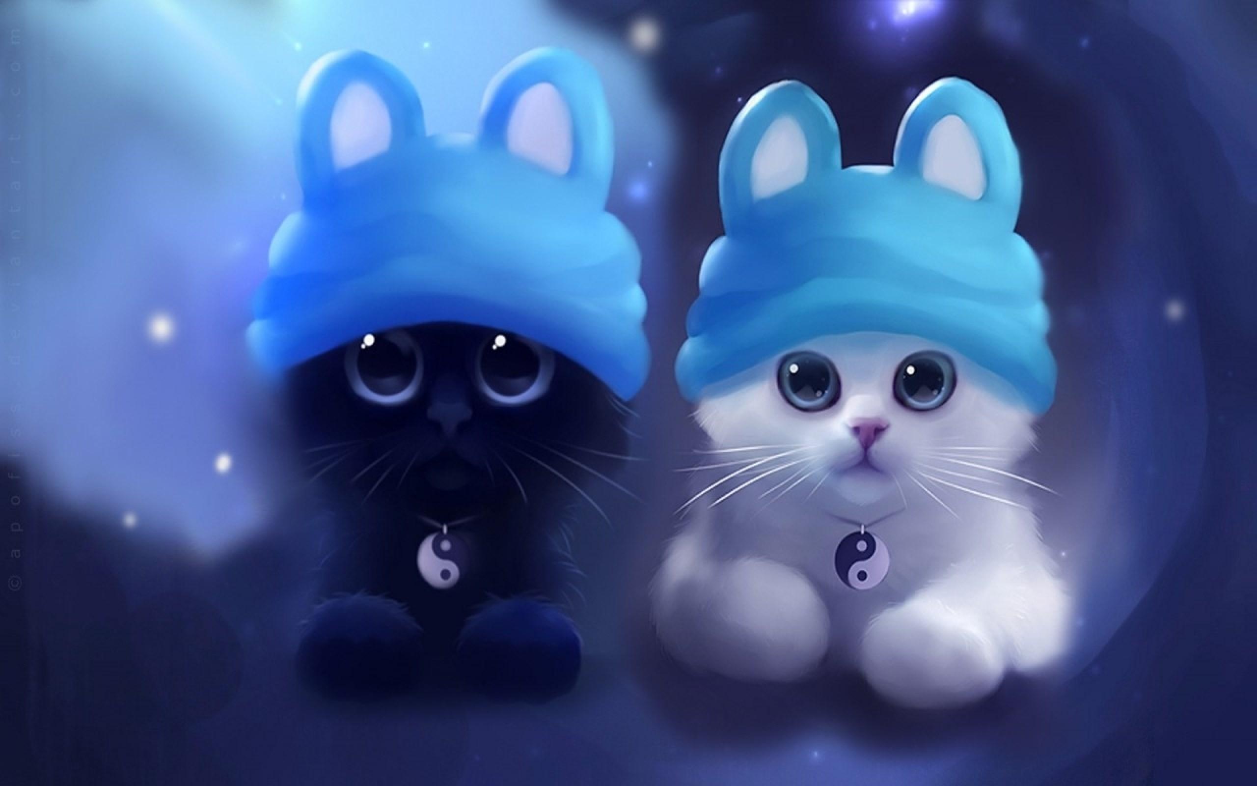 cute cartoon cat wallpaper (71+ images)