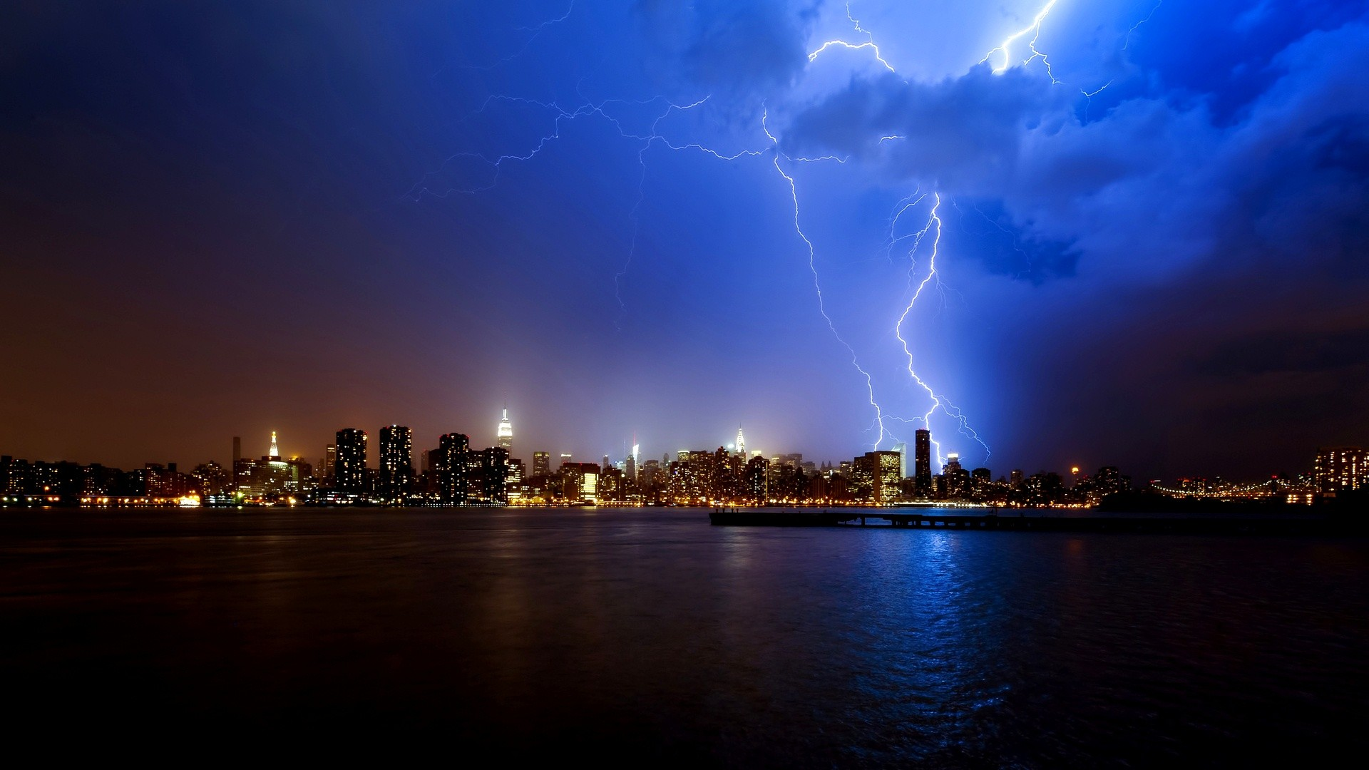 1920x1080 Thunder Fire HD Pictures, Thunder Storm Wallpapers - Wallpapers .