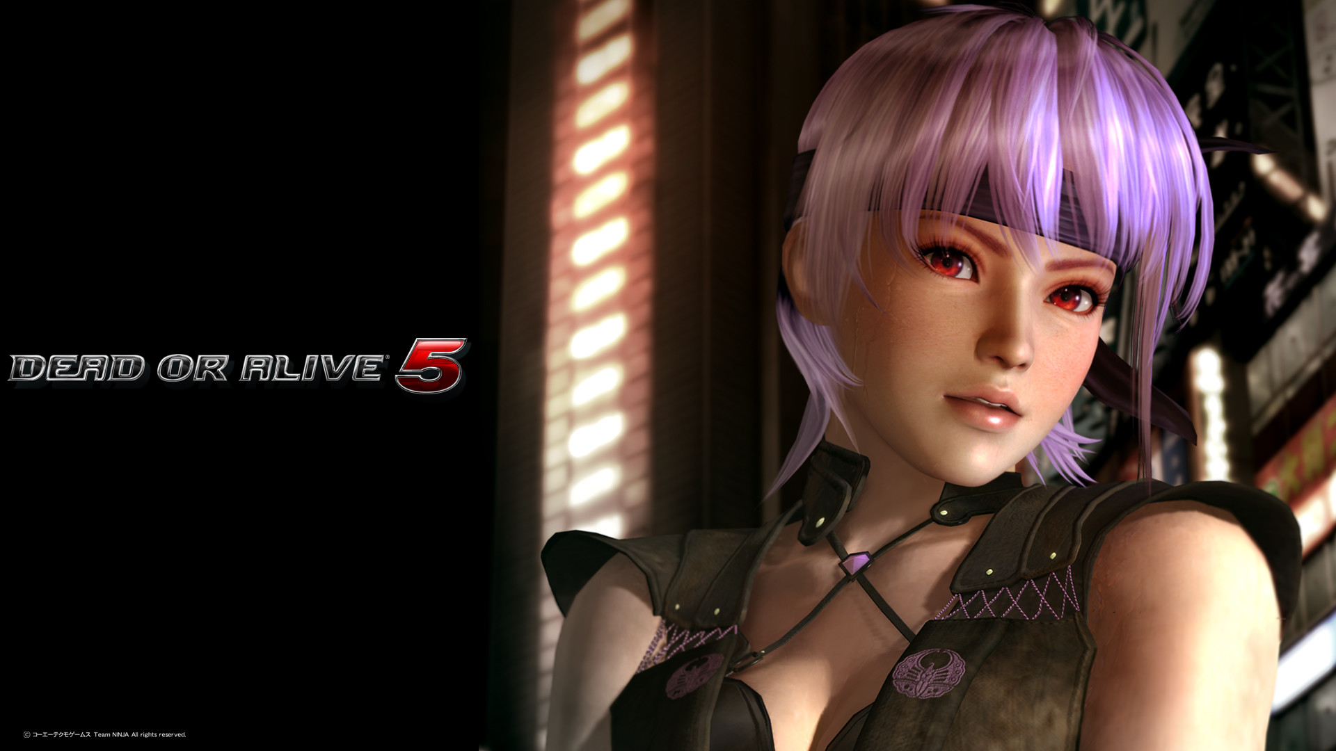 1920x1080 Dead or Alive 5 Ayane Wallpaper
