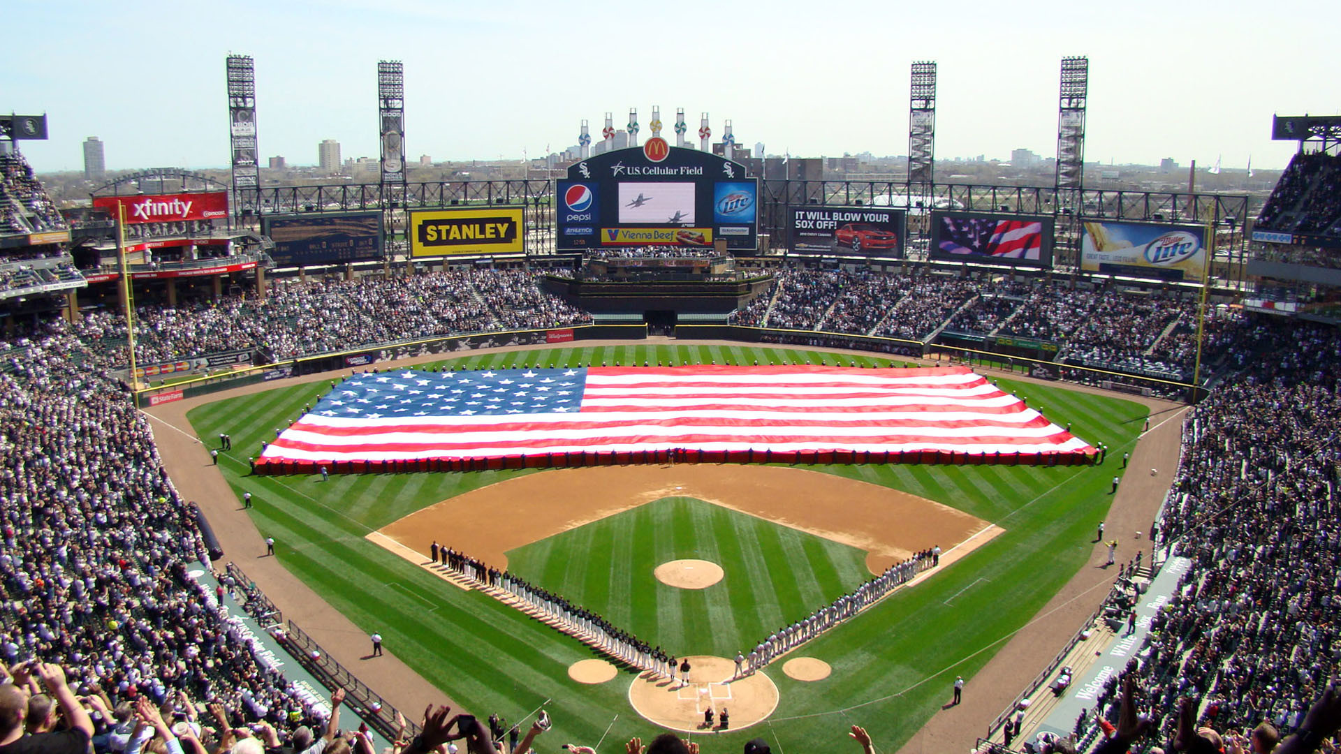 1920x1080 HD Chicago White Sox Wallpapers.