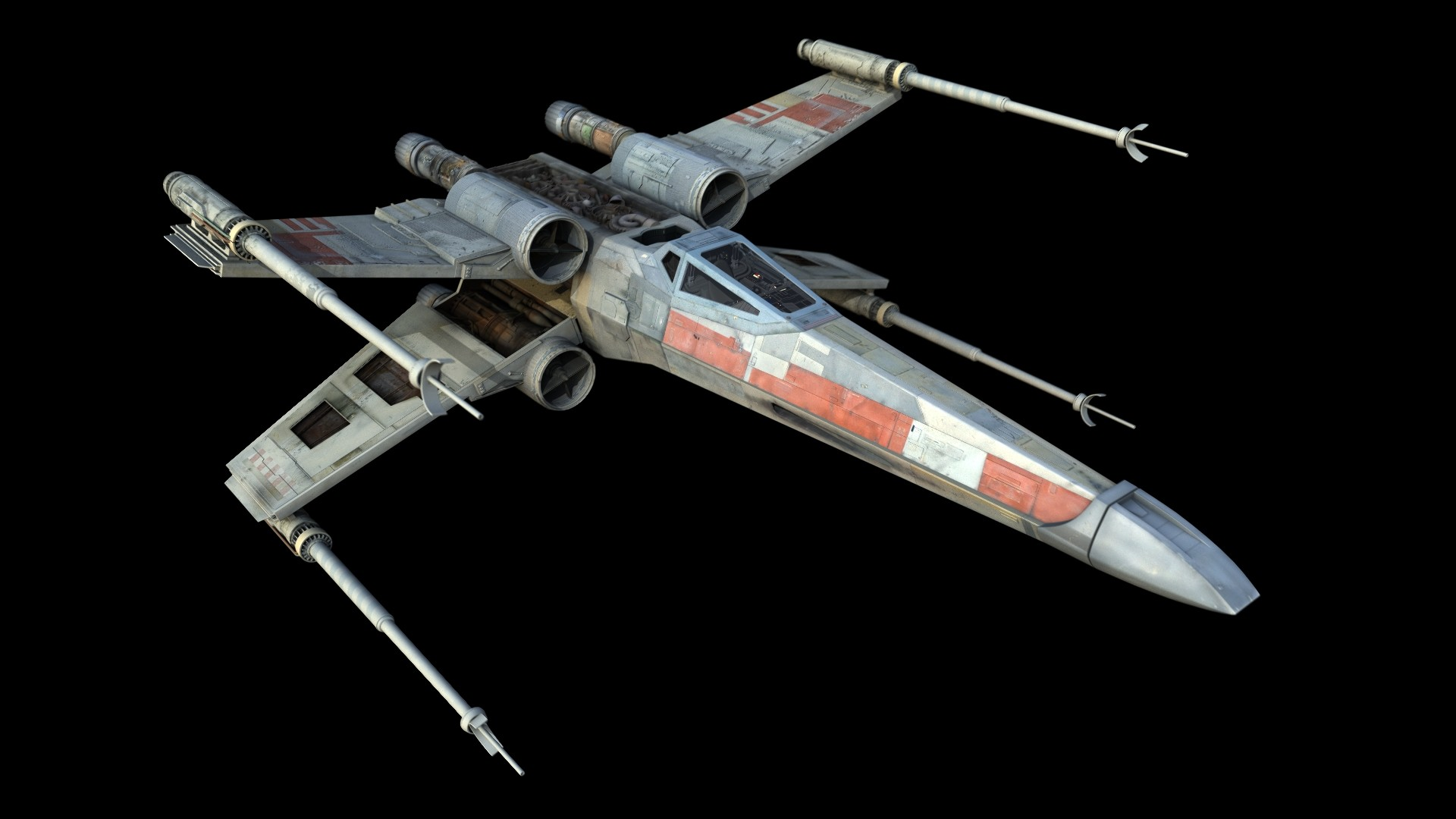 1920x1080 65B X-Wing Fighter by WoodyLWG on DeviantArt