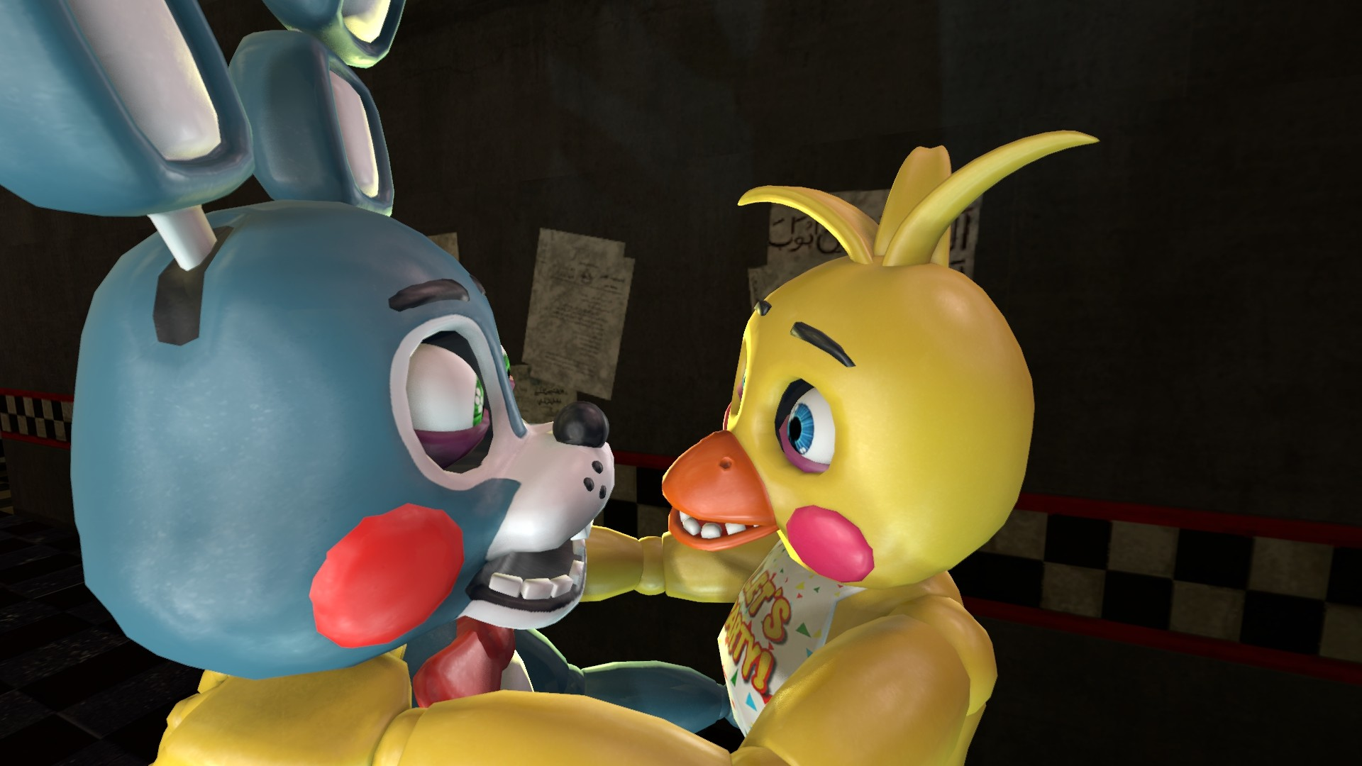 1920x1080 ... Toy Chica and Toy Bonnie by Mathieulebest