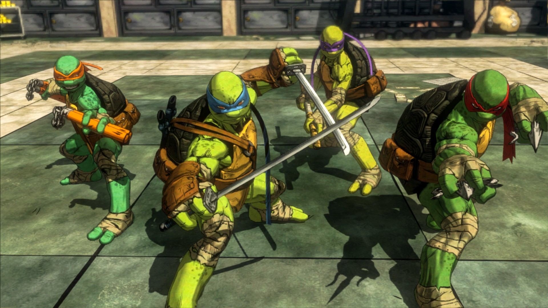1920x1080 TMNT: Mutants in Manhattan. ""