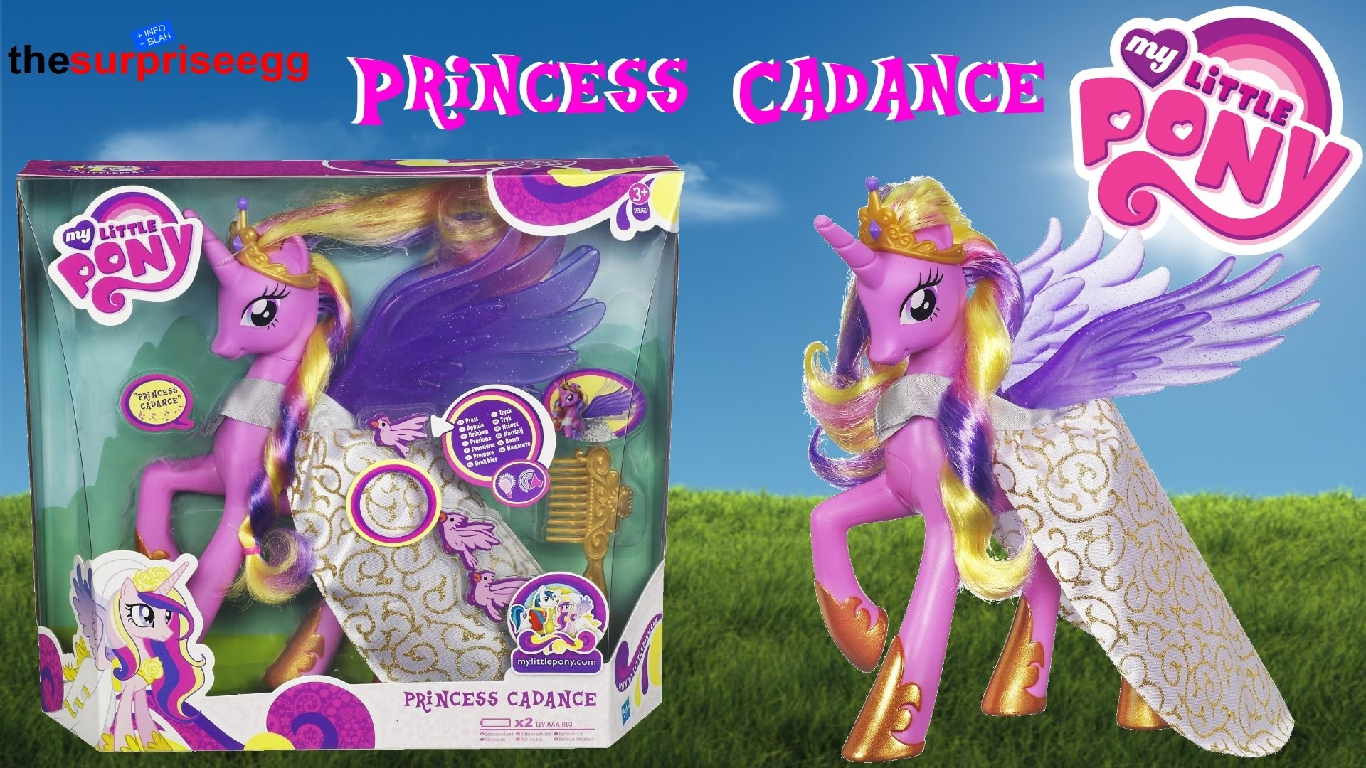 1920x1080 My Little Pony Talking Princess Cadance Wedding Pony Friendship is Magic  review toy - YouTube