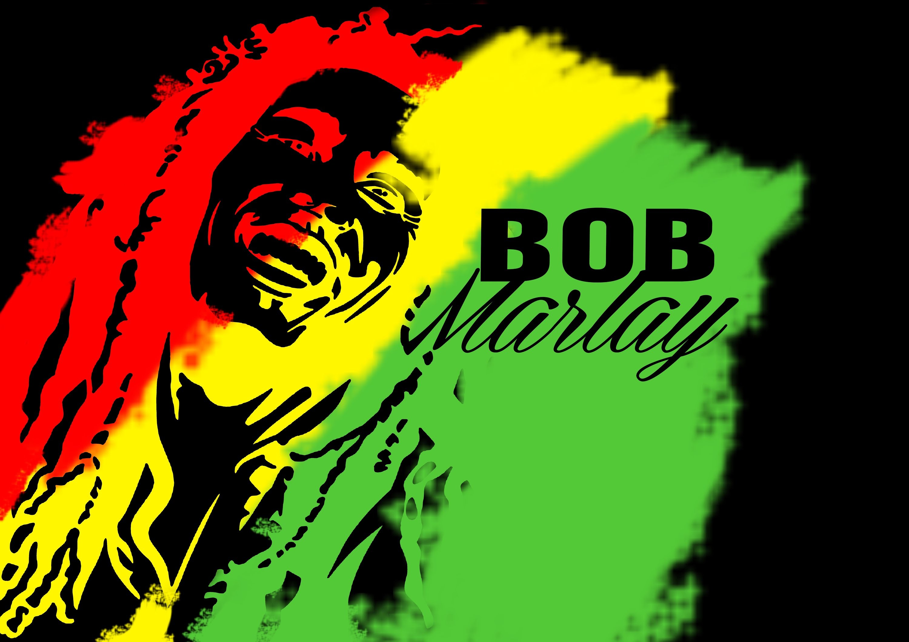 2048x2048 Bob Marley Wallpapers IPad Famous Singer Frases Popular Reggae Best Ever Rasta Wallpaper Of Widescreen