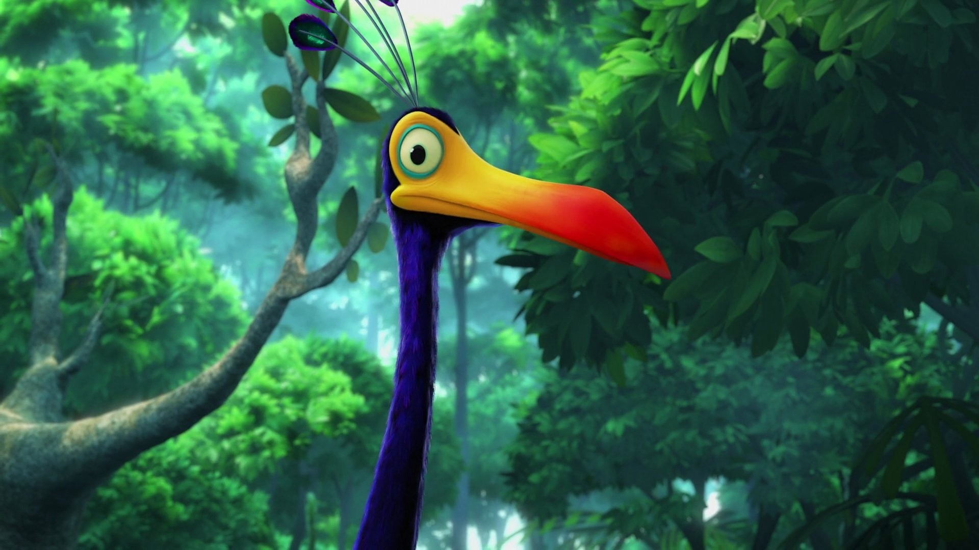1920x1080 Kevin the Bird, Up, Pixar, bird, Kevin, beak, cartoon