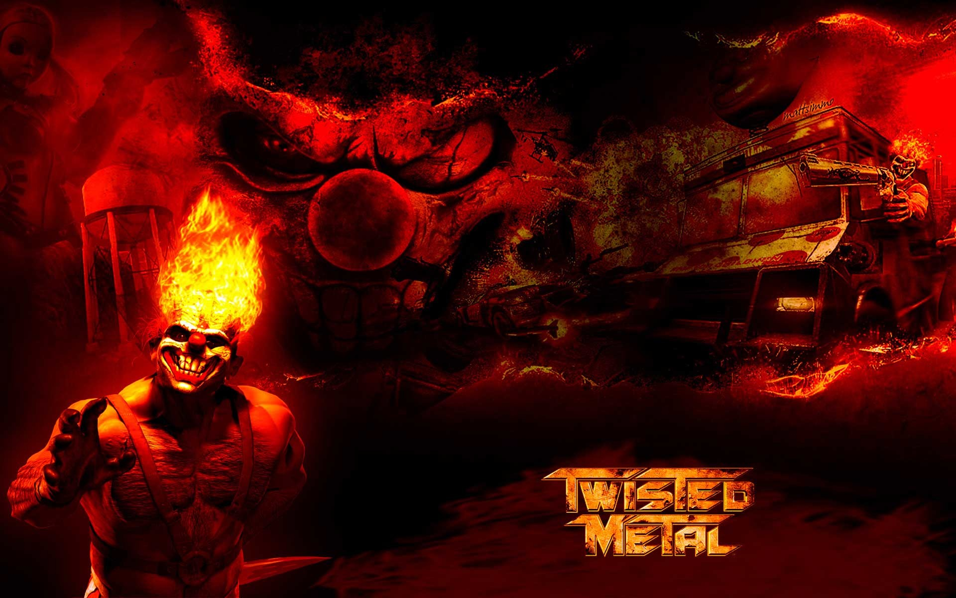 1920x1200 Twisted Metal Black Wallpapers Ps Ign 1024x768PX ~ Twisted Metal .