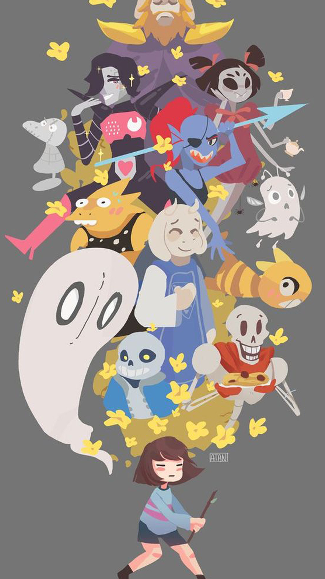 1080x1920 Undertale Cool Phone Backgrounds Iphone Wallpapers