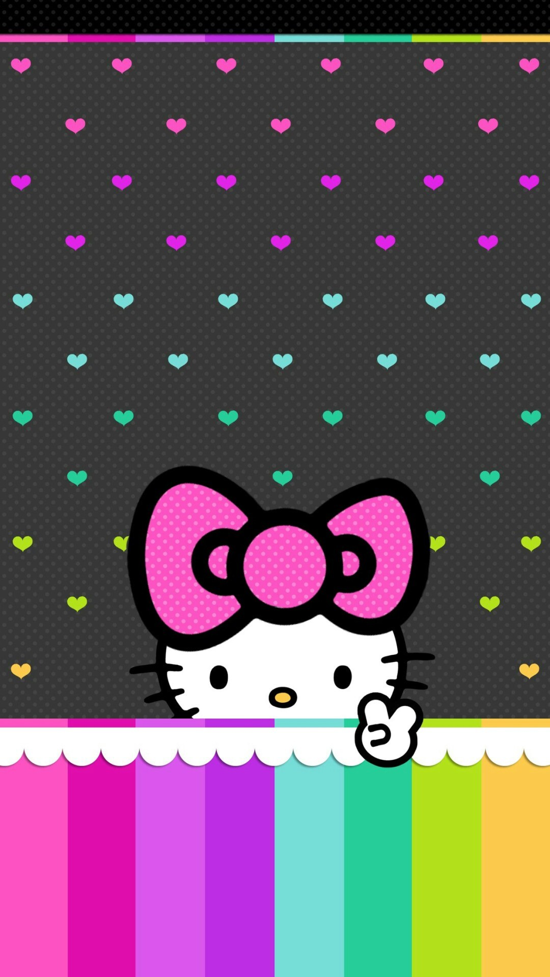 Purple Hello Kitty Wallpaper 74 Images