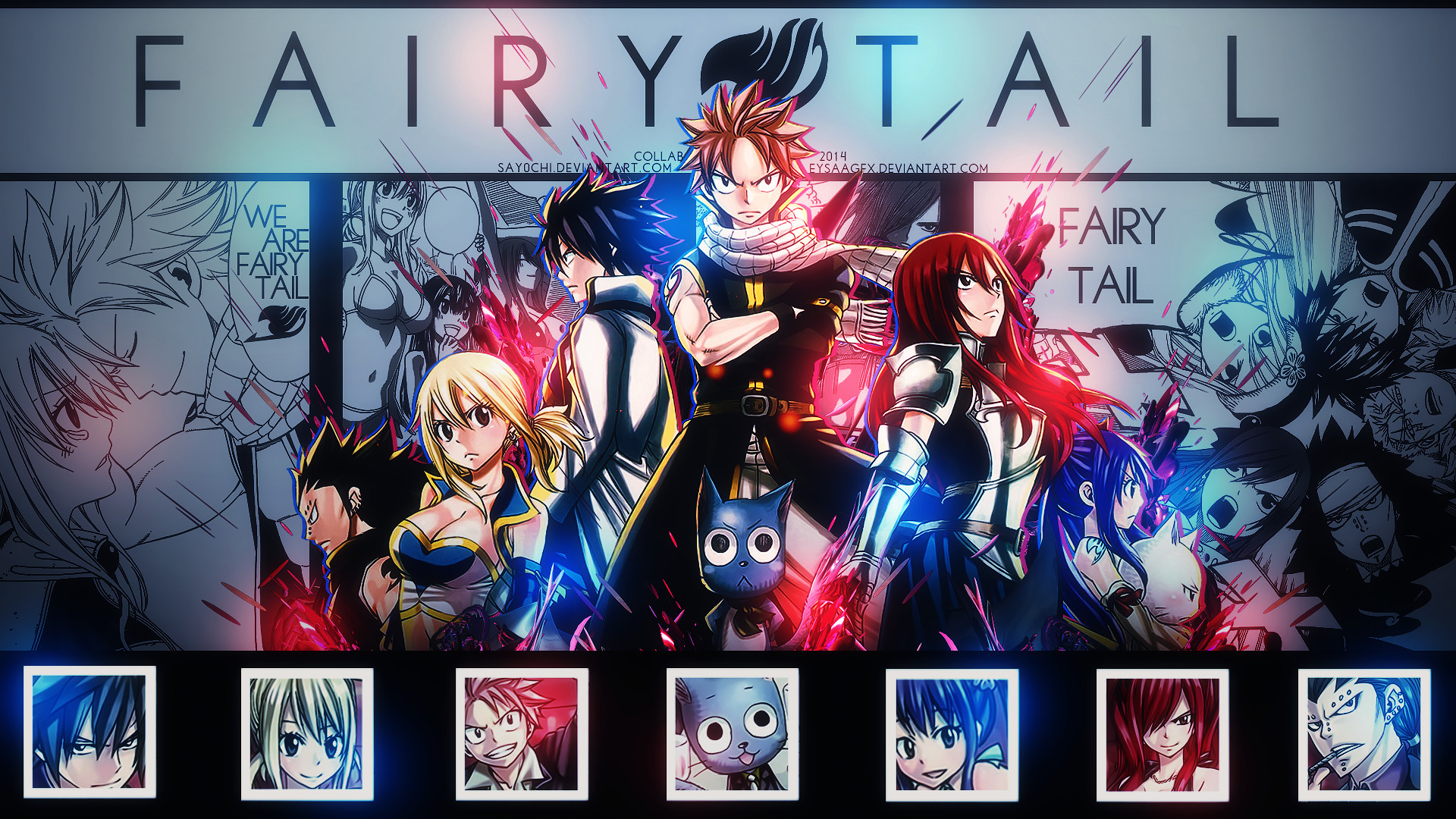 1920x1080 ... Fairy Tail Fantasia Wallpaper HD Desktop | Best Anime | Pinterest .