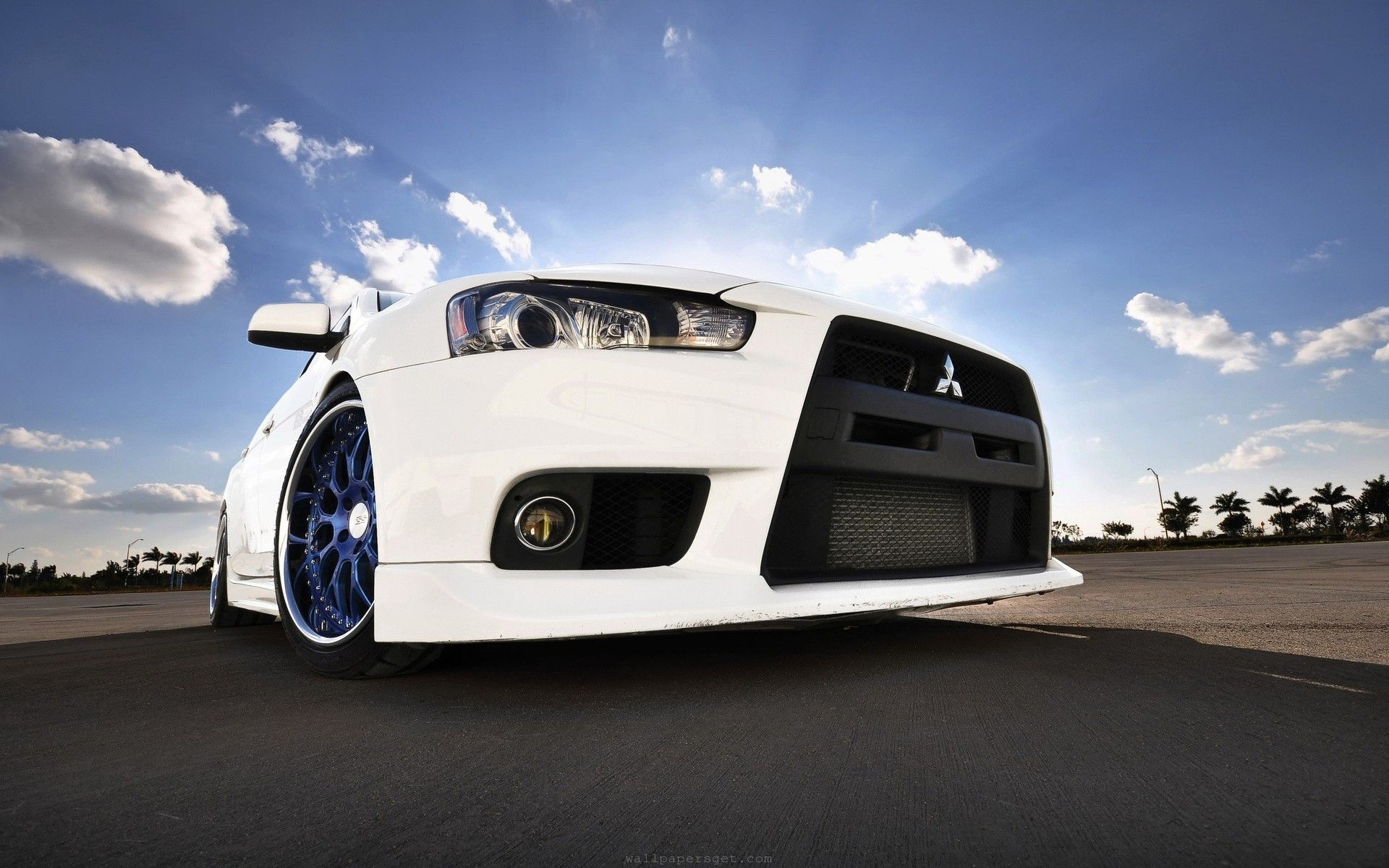 1920x1200 High Quality Mitsubishi Evolution X Wallpaper