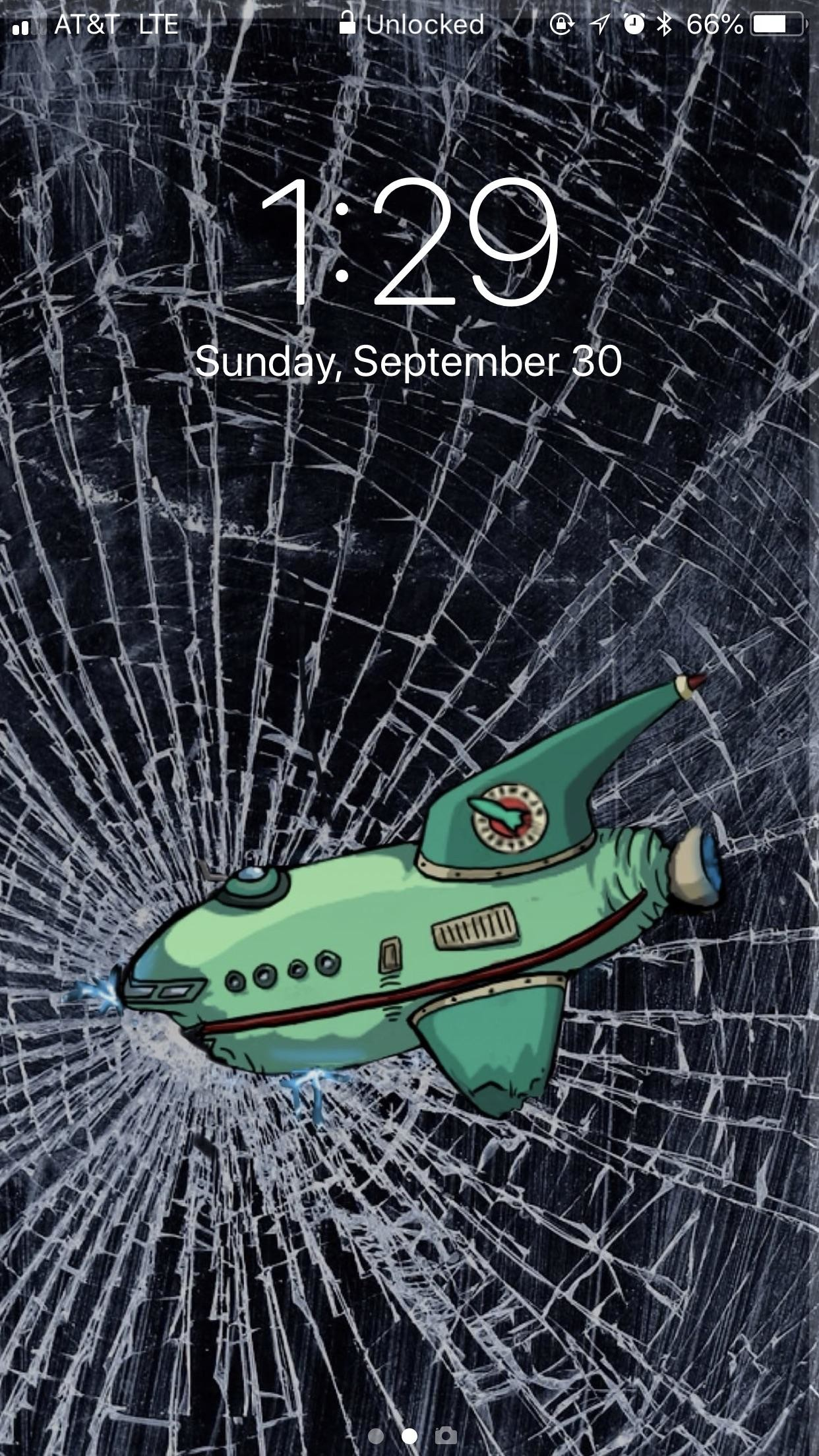 1242x2208 Anyone else have a Futurama wallpaper?